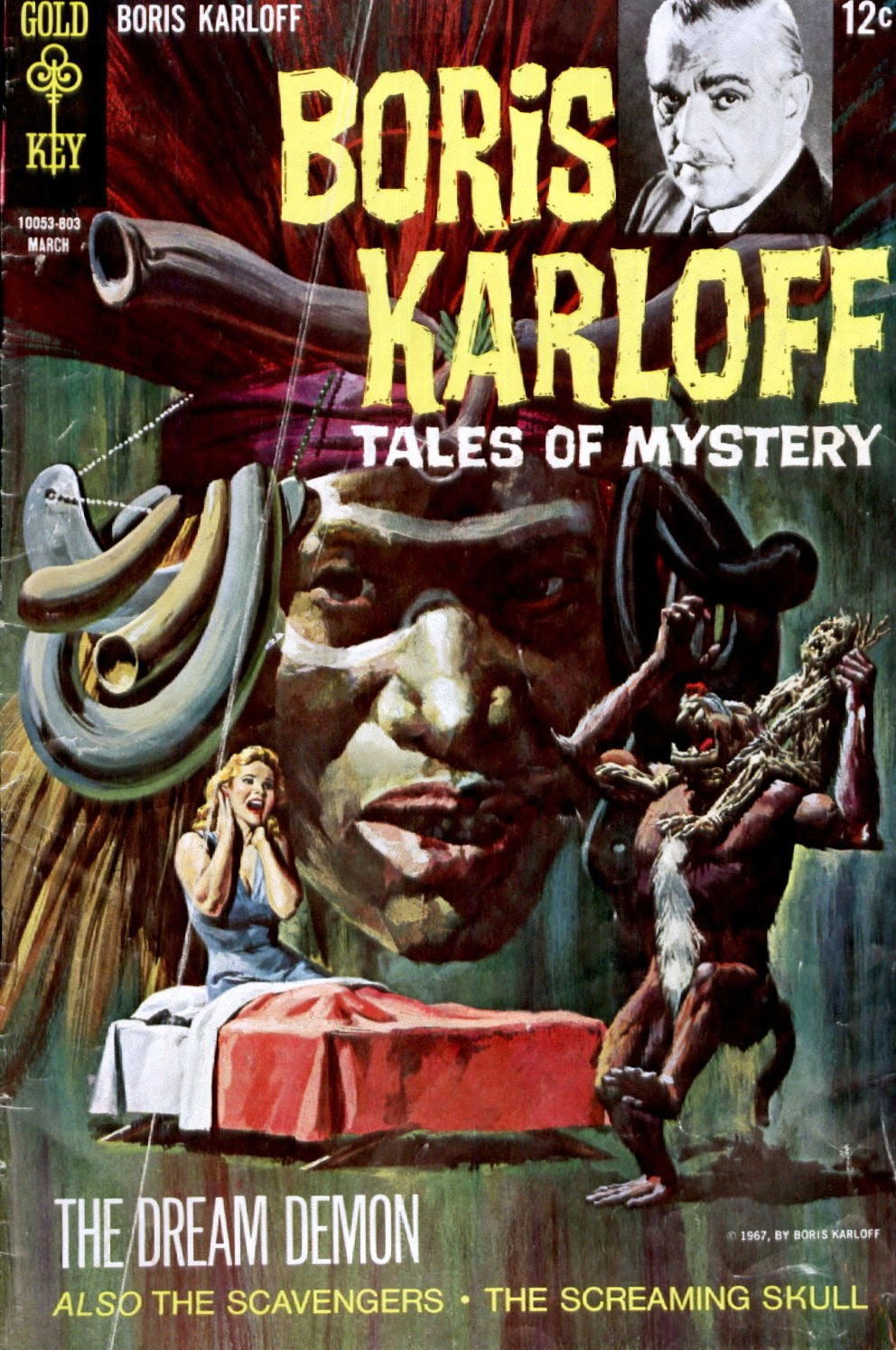 Boris Karloff Tales of Mystery issue 21 - Page 1