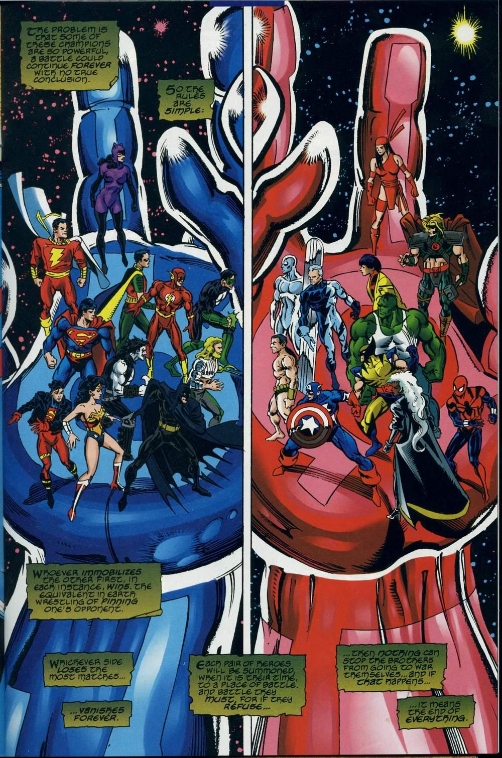 Read online DC Versus Marvel Comics comic -  Issue #2 - 16