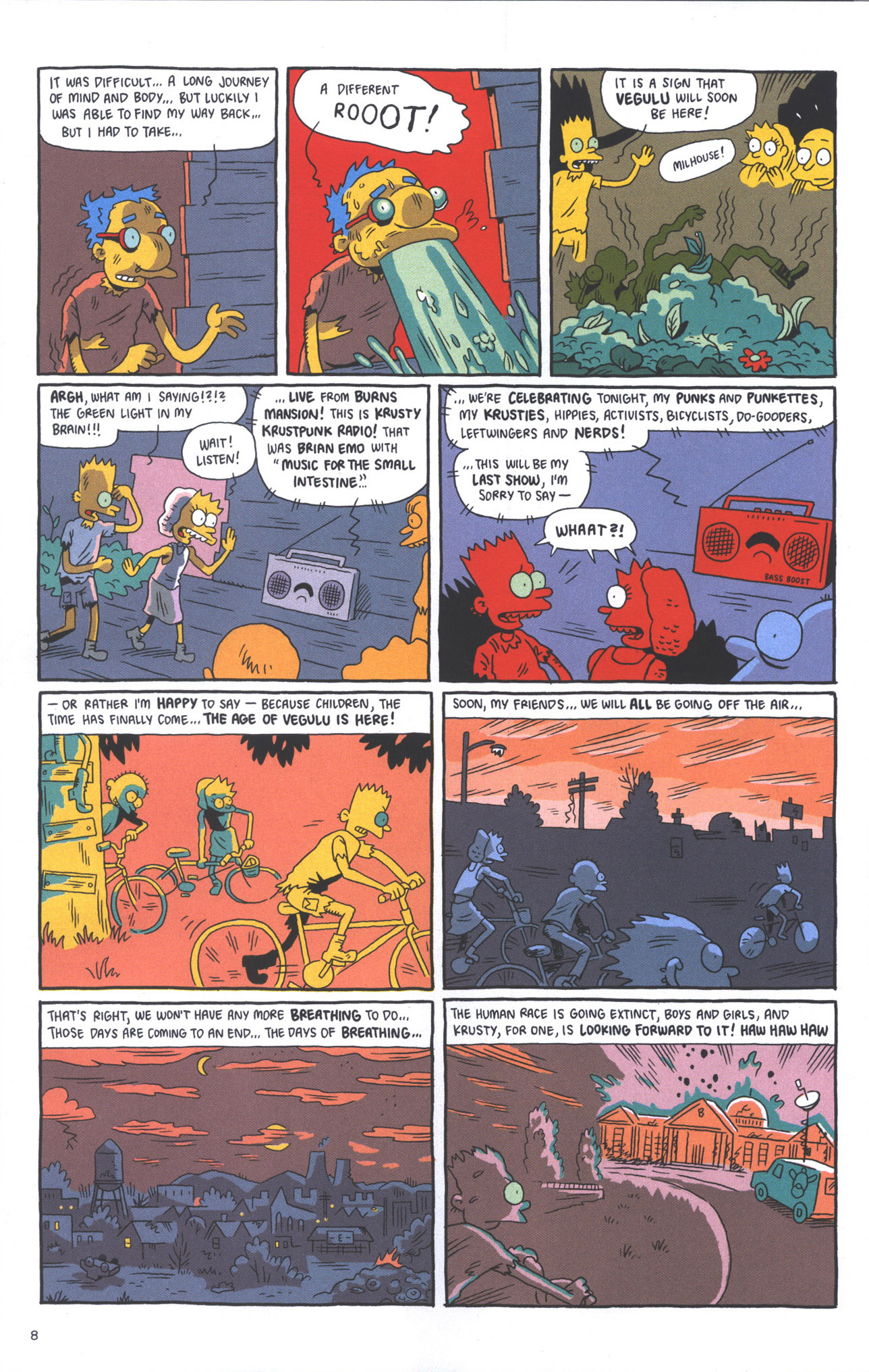 Read online Treehouse of Horror comic -  Issue #15 - 11