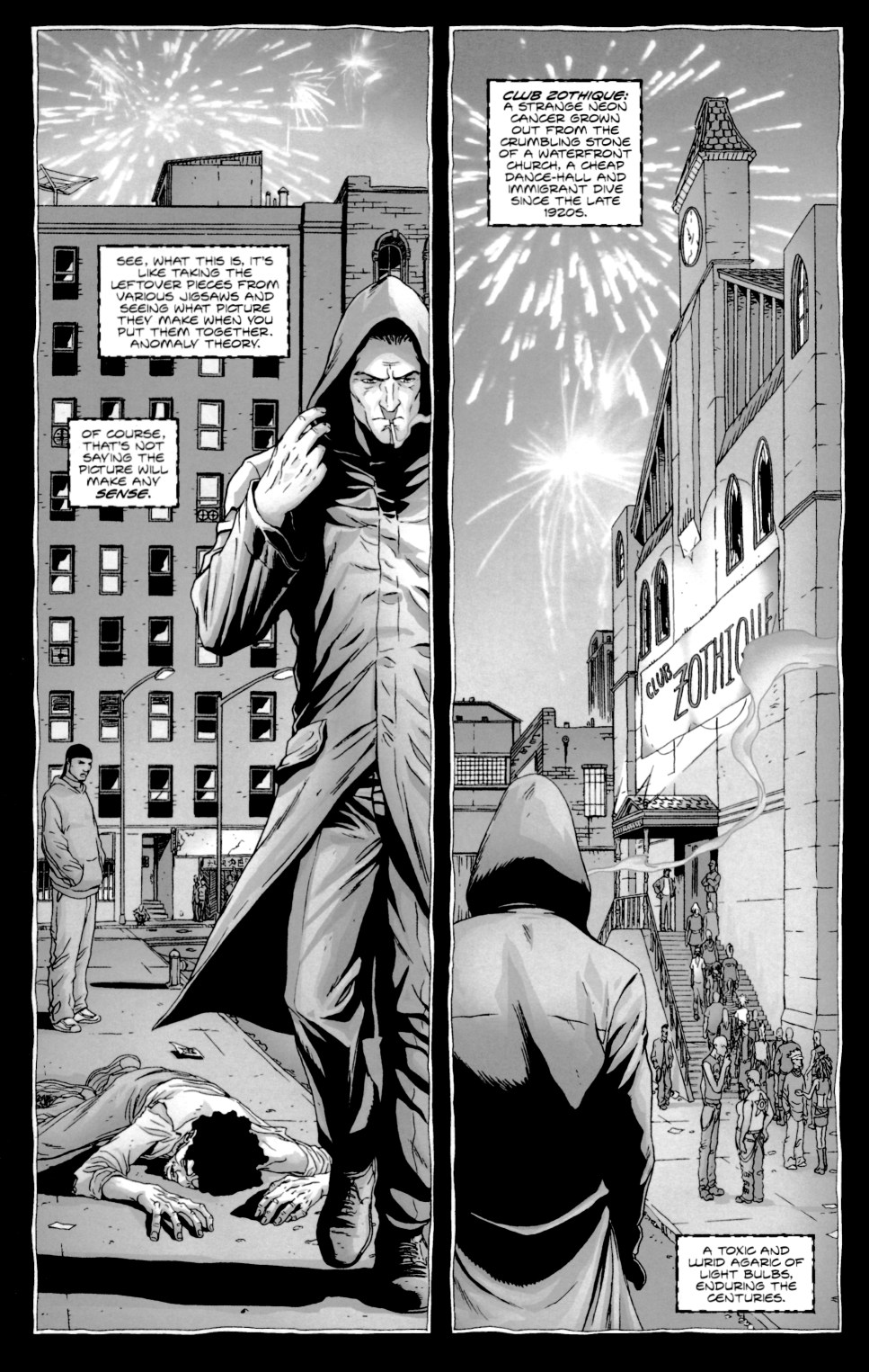 Read online Alan Moore's The Courtyard comic -  Issue #1 - 15