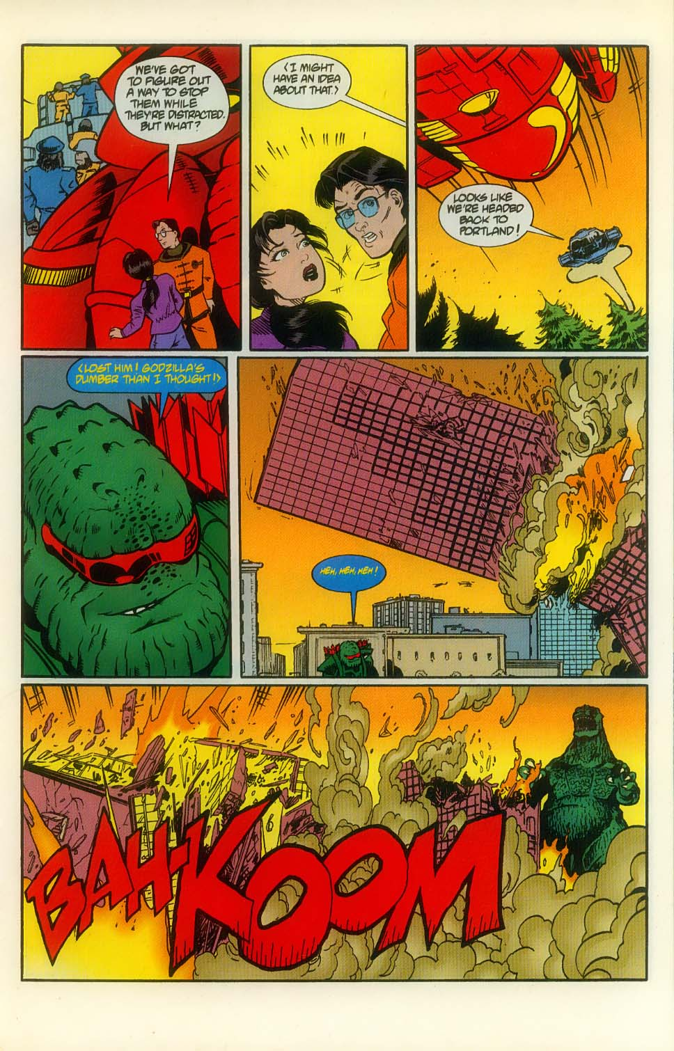 Godzilla (1995) Issue #8 #9 - English 13
