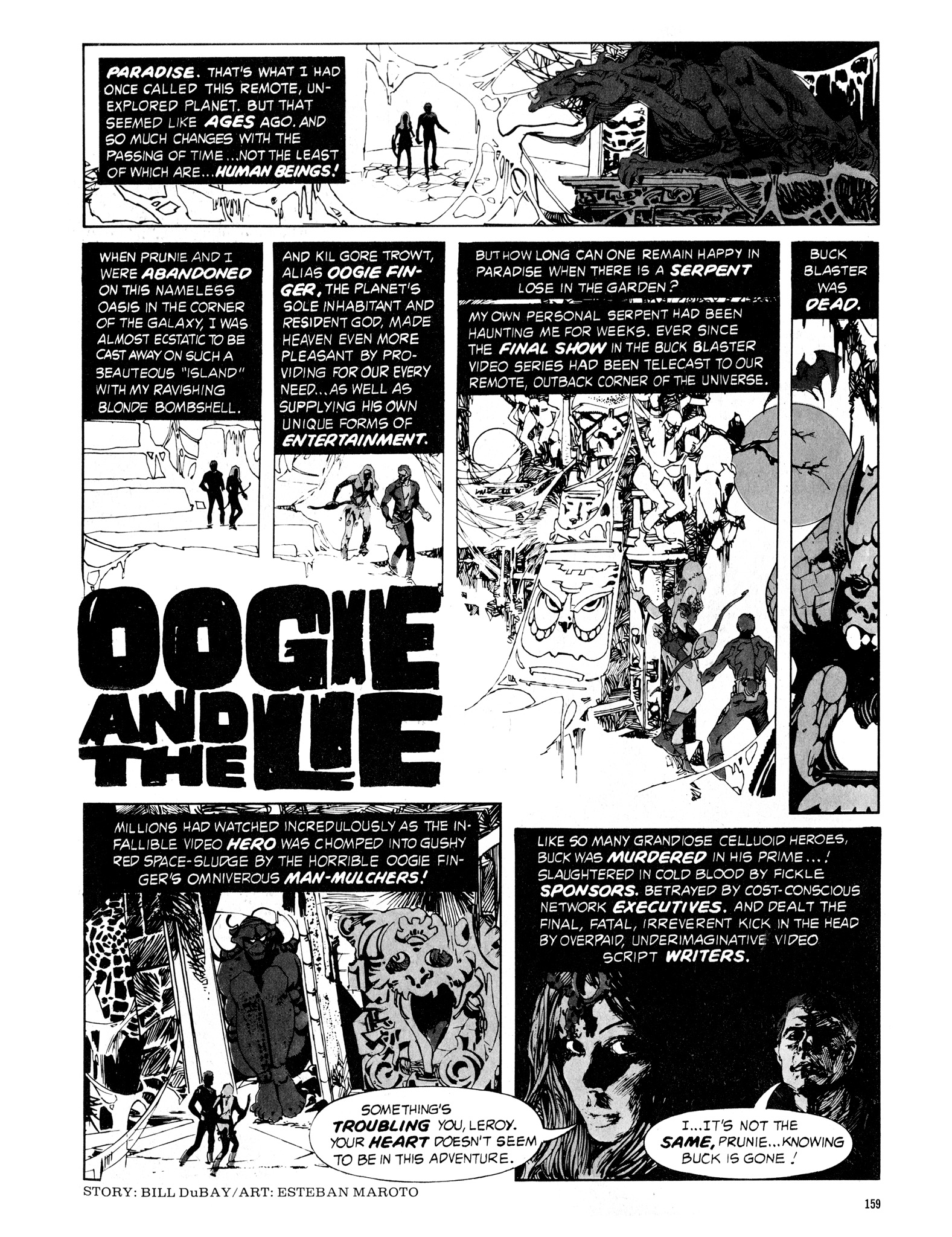 Read online Eerie Archives comic -  Issue # TPB 16 - 160