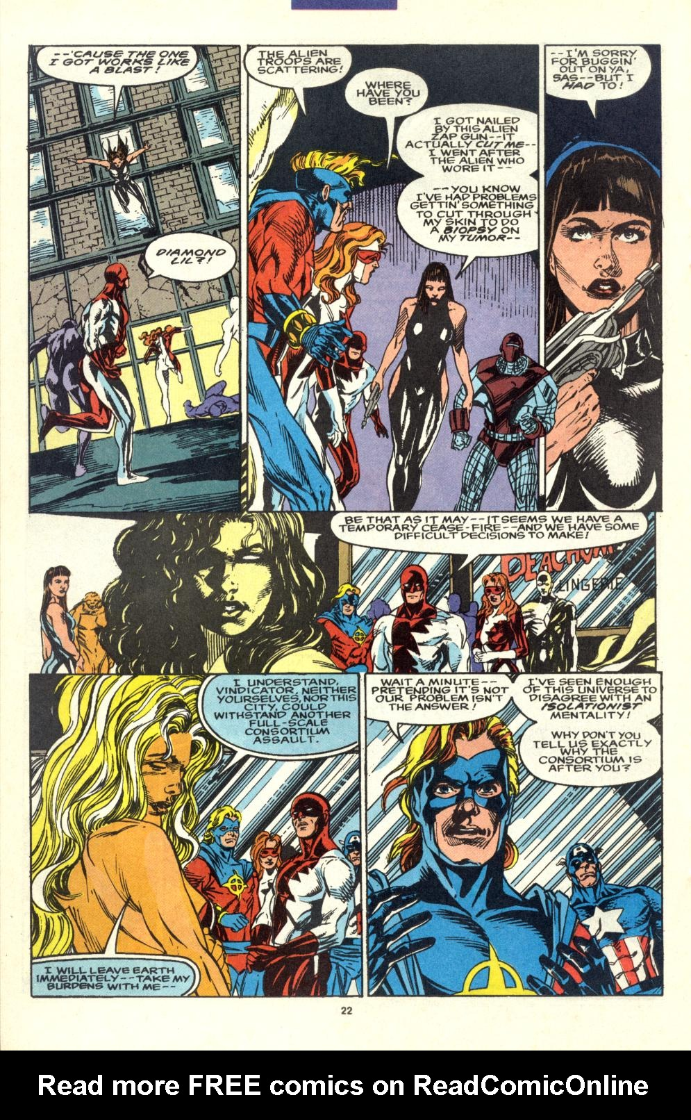 Read online Alpha Flight (1983) comic -  Issue #99 - 17