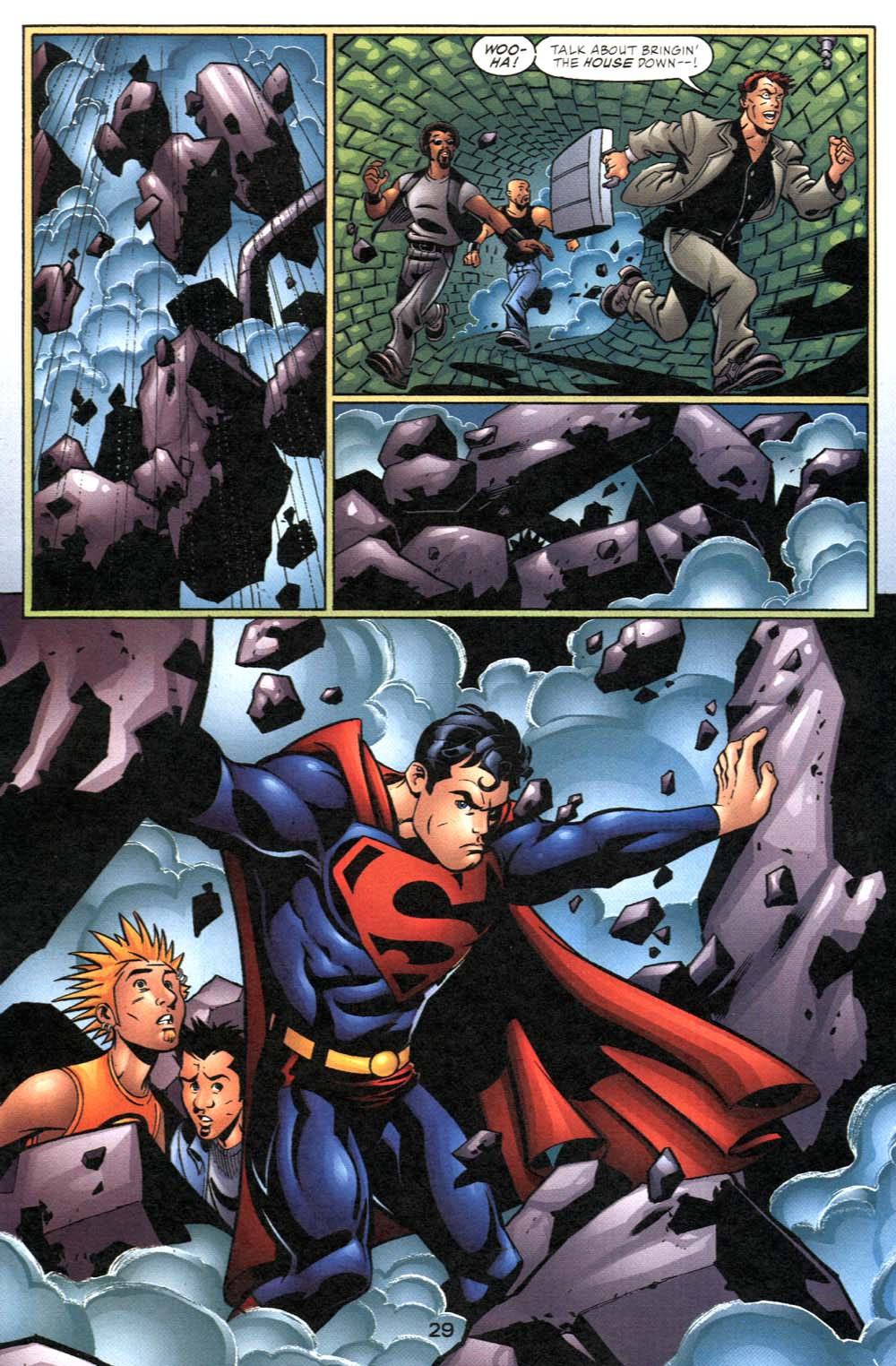 Read online Adventures of Superman (1987) comic -  Issue #600 - 30
