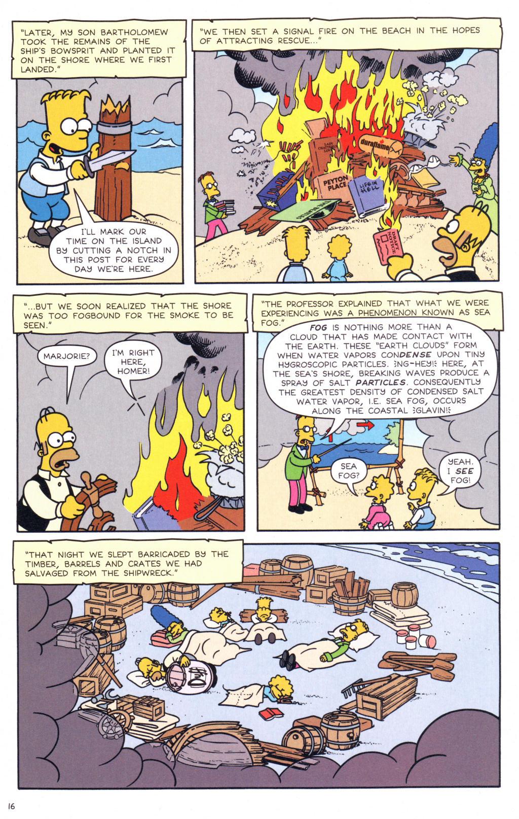 Read online Simpsons Comics comic -  Issue #127 - 13