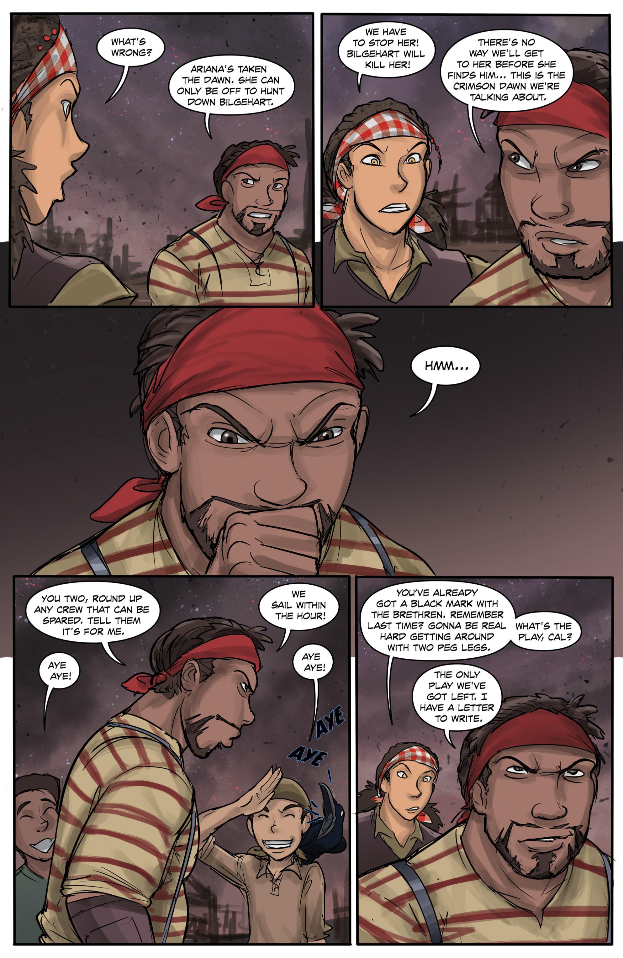 Read online Anne Bonnie comic -  Issue #6 - 5