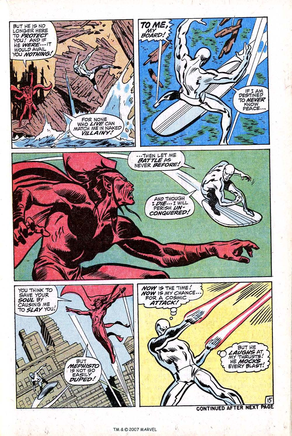 Read online Silver Surfer (1968) comic -  Issue #16 - 21