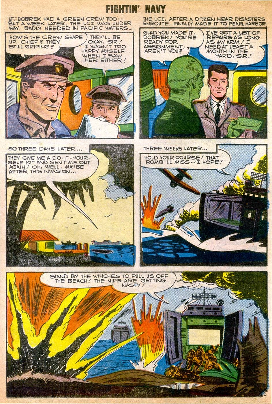 Read online Fightin' Navy comic -  Issue #79 - 23