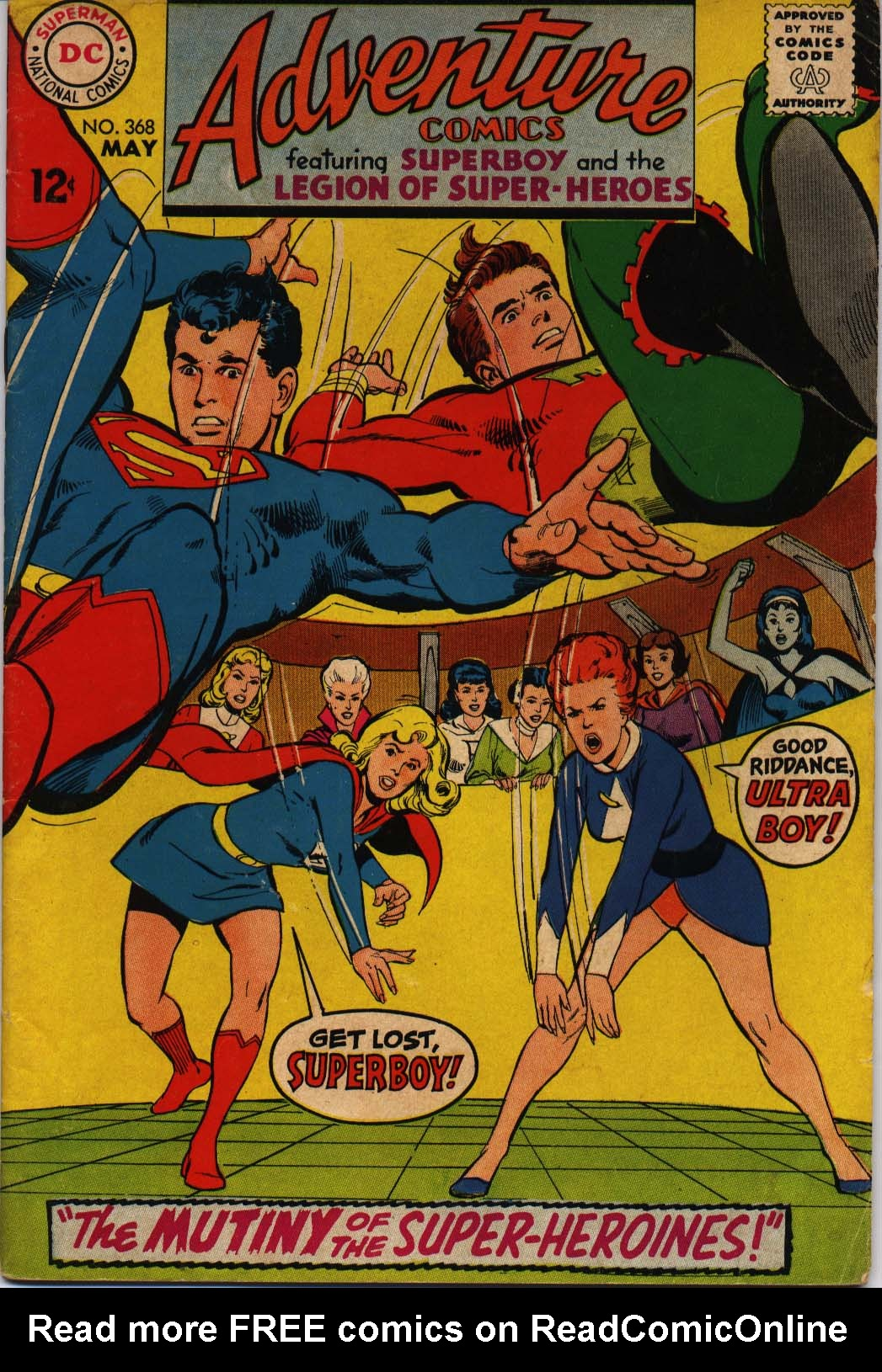 Read online Adventure Comics (1938) comic -  Issue #368 - 1