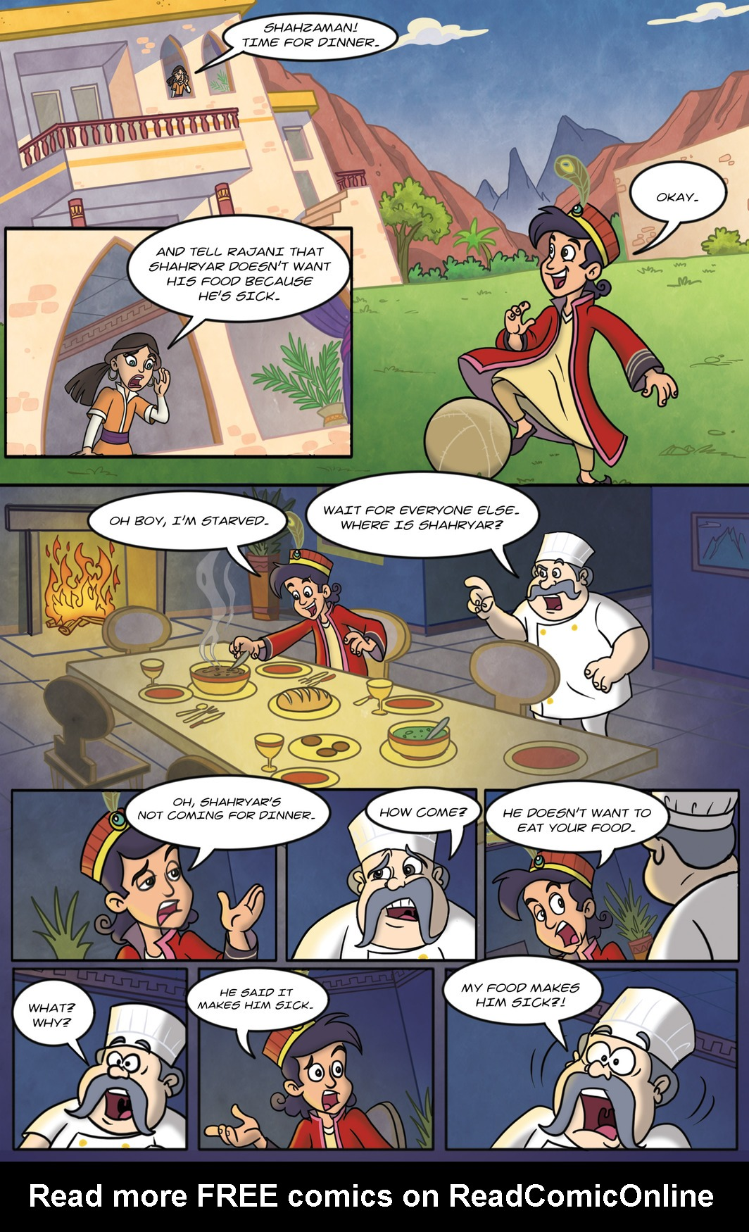 Read online 1001 Nights comic -  Issue #9 - 4