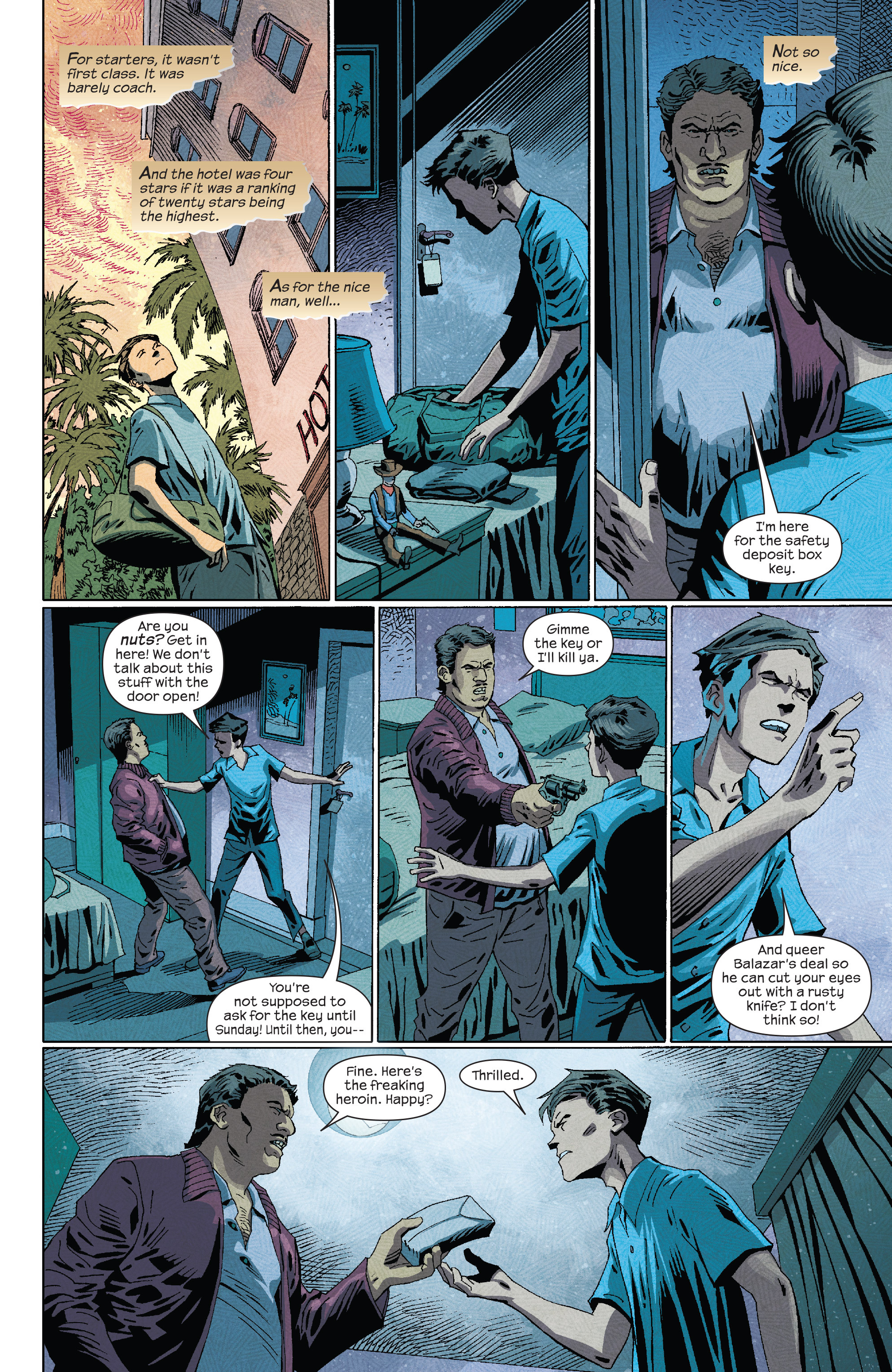 Read online Dark Tower: The Drawing of the Three - The Prisoner comic -  Issue #4 - 16