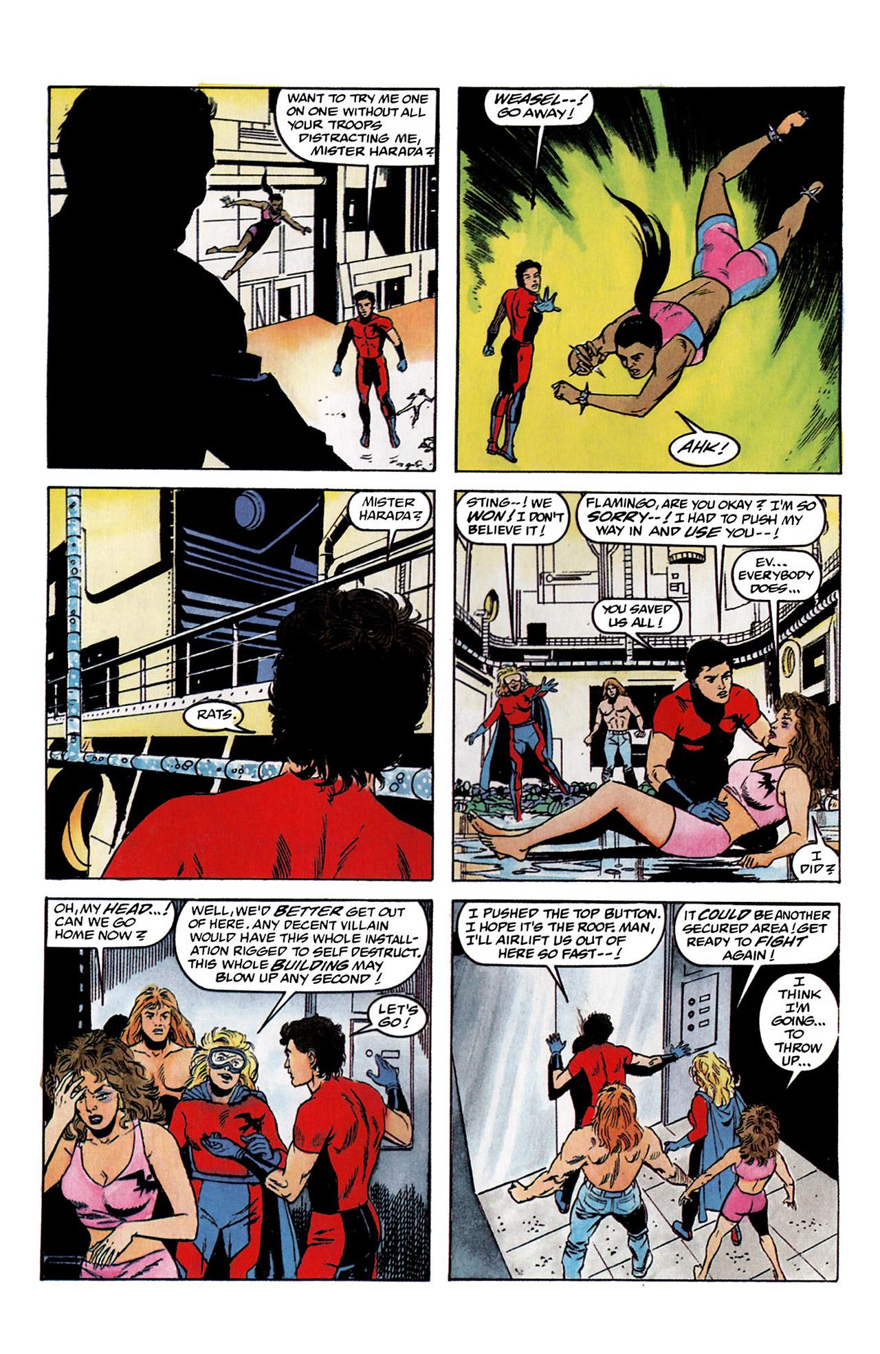 Read online Harbinger (1992) comic -  Issue #2 - 24