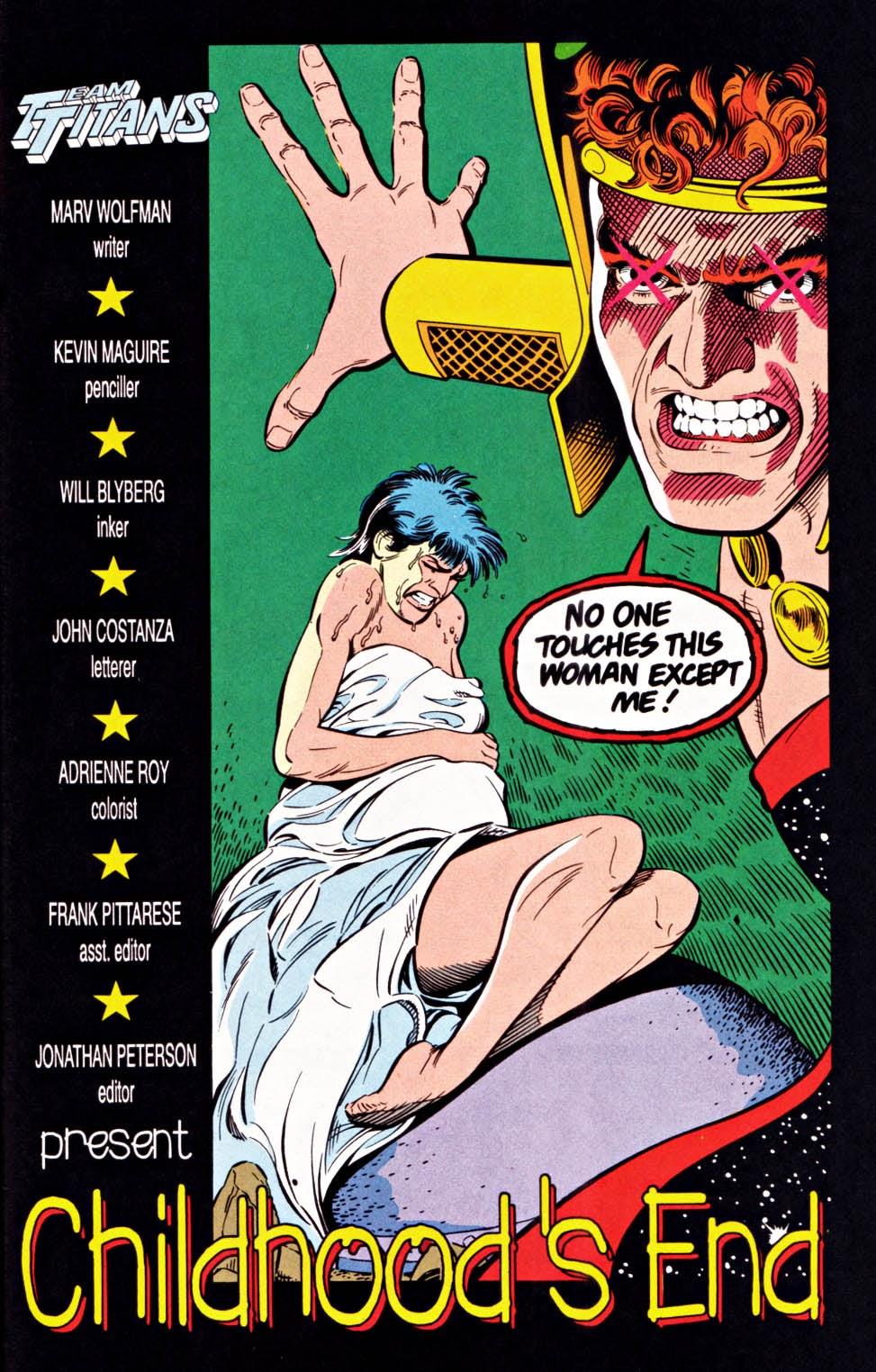 Read online Team Titans comic -  Issue #1e - 21