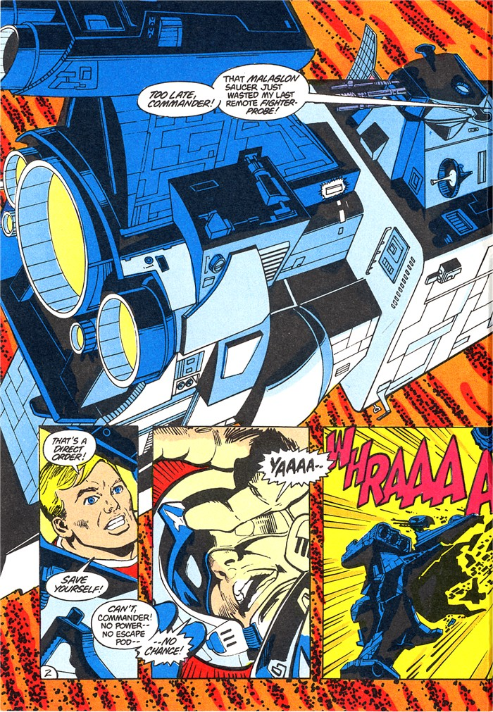 Read online Atari Force (1982) comic -  Issue #4 - 4