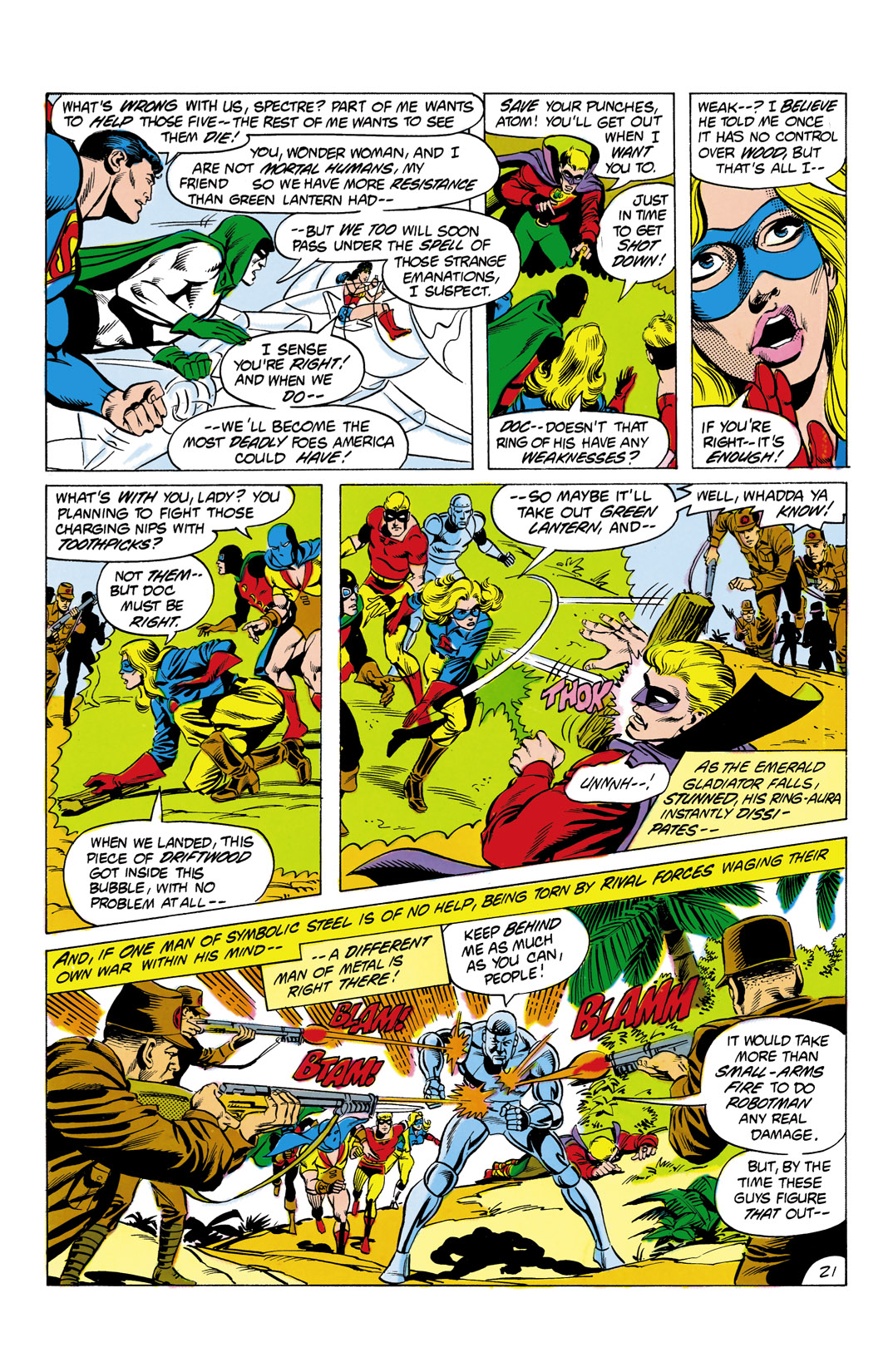 Read online All-Star Squadron comic -  Issue #4 - 22