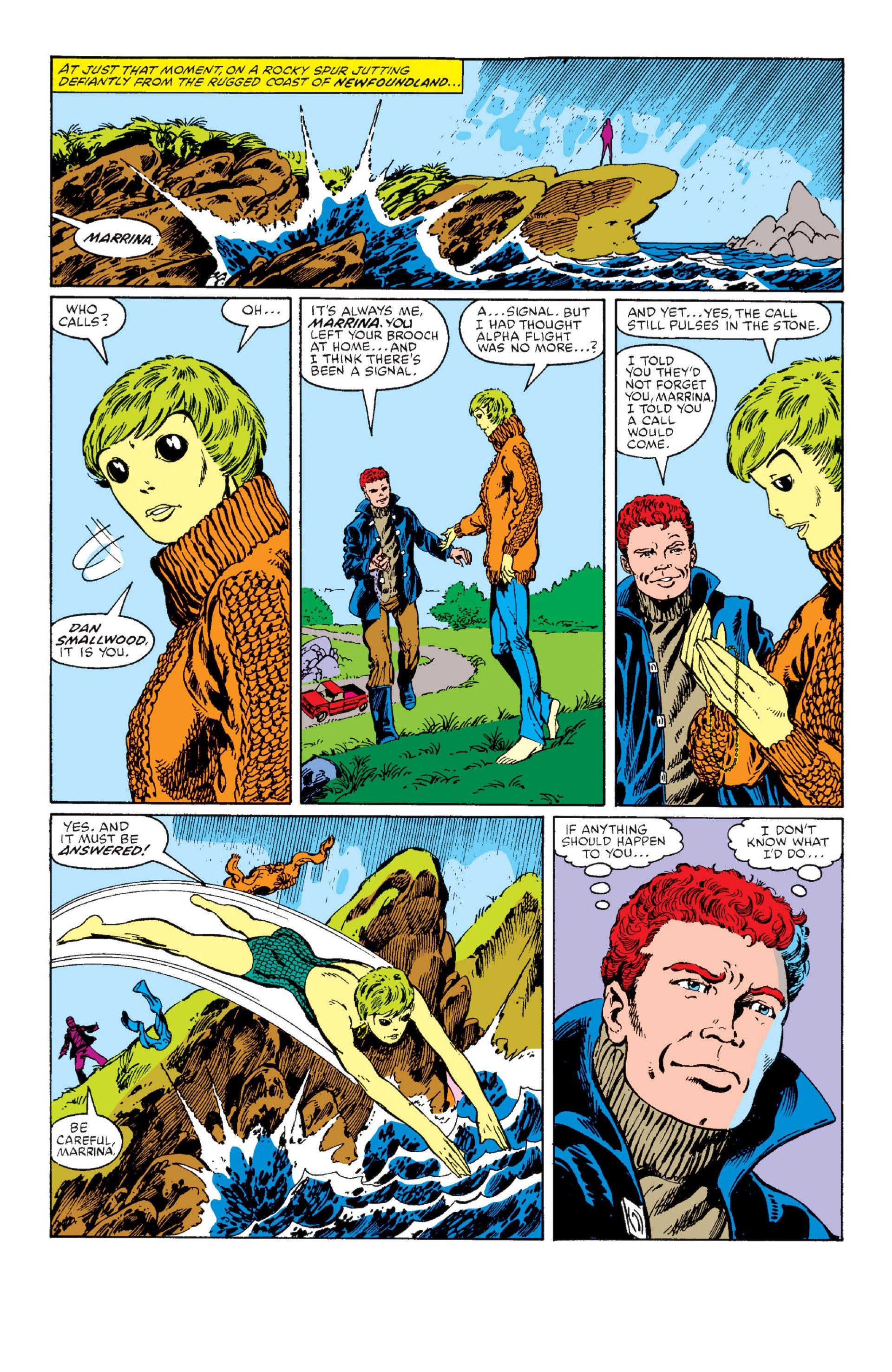 Read online Alpha Flight (1983) comic -  Issue #1 - 19