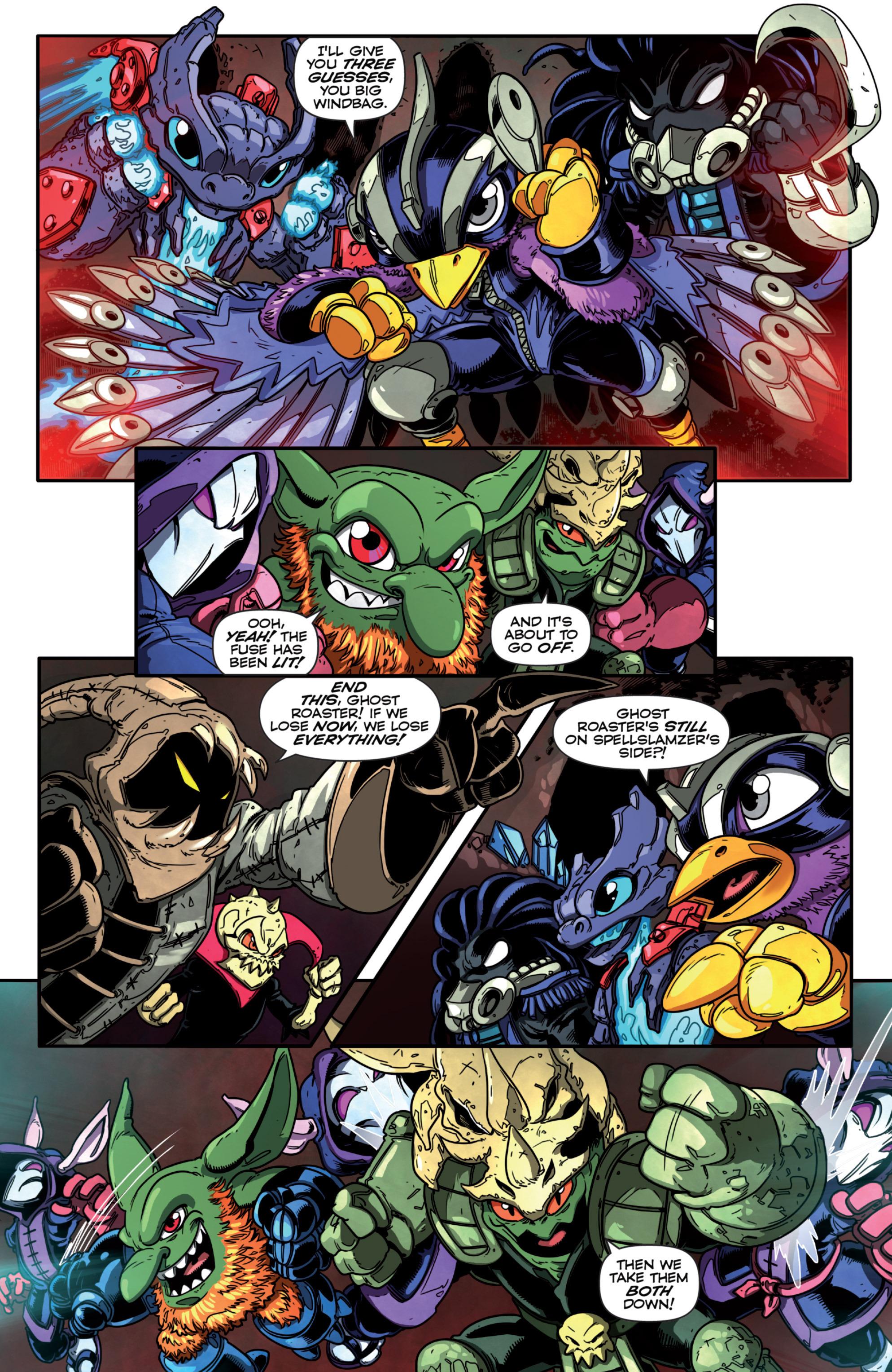 Read online Skylanders Superchargers comic -  Issue #3 - 11