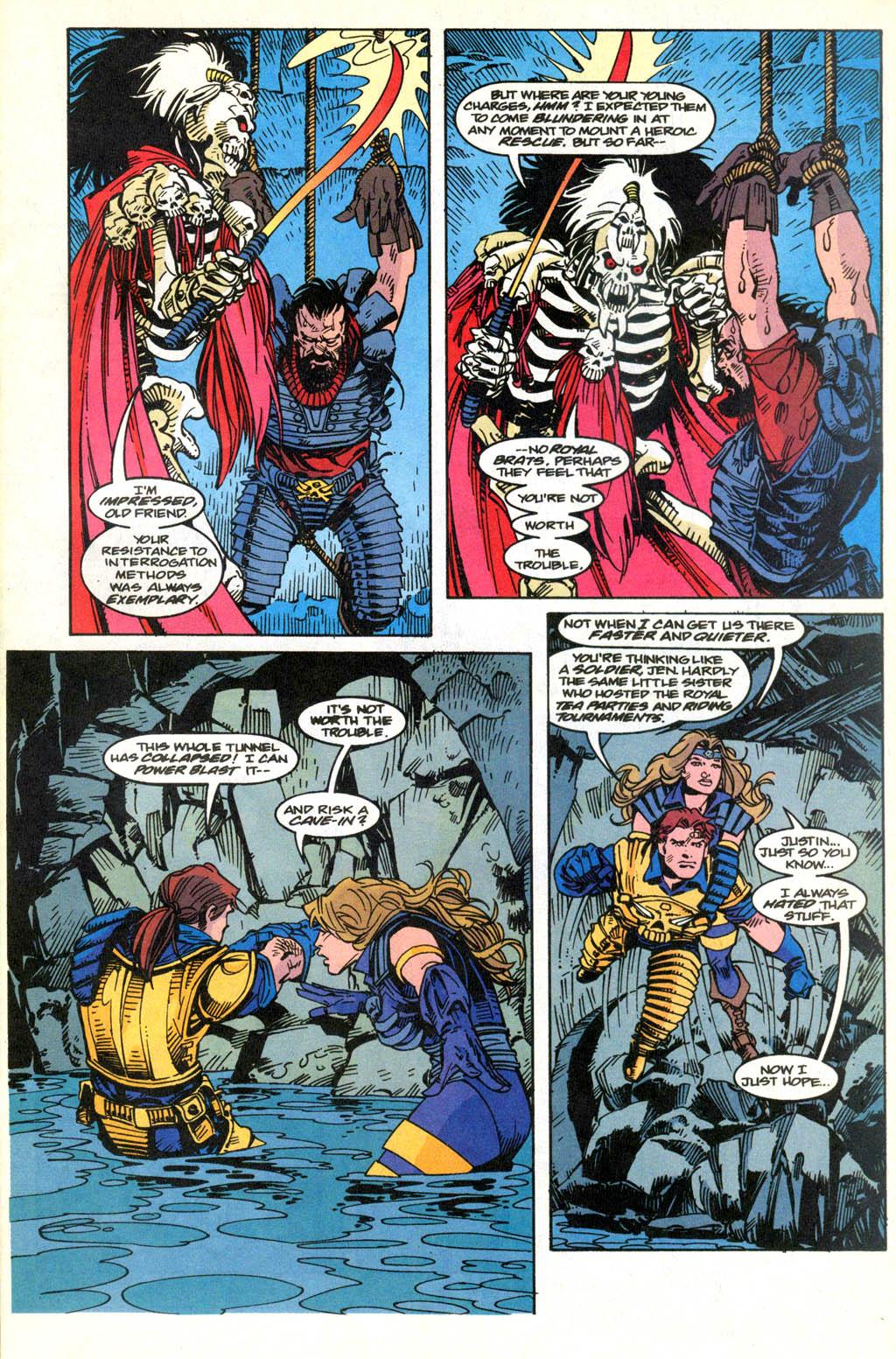 Skeleton Warriors Issue #2 #2 - English 10