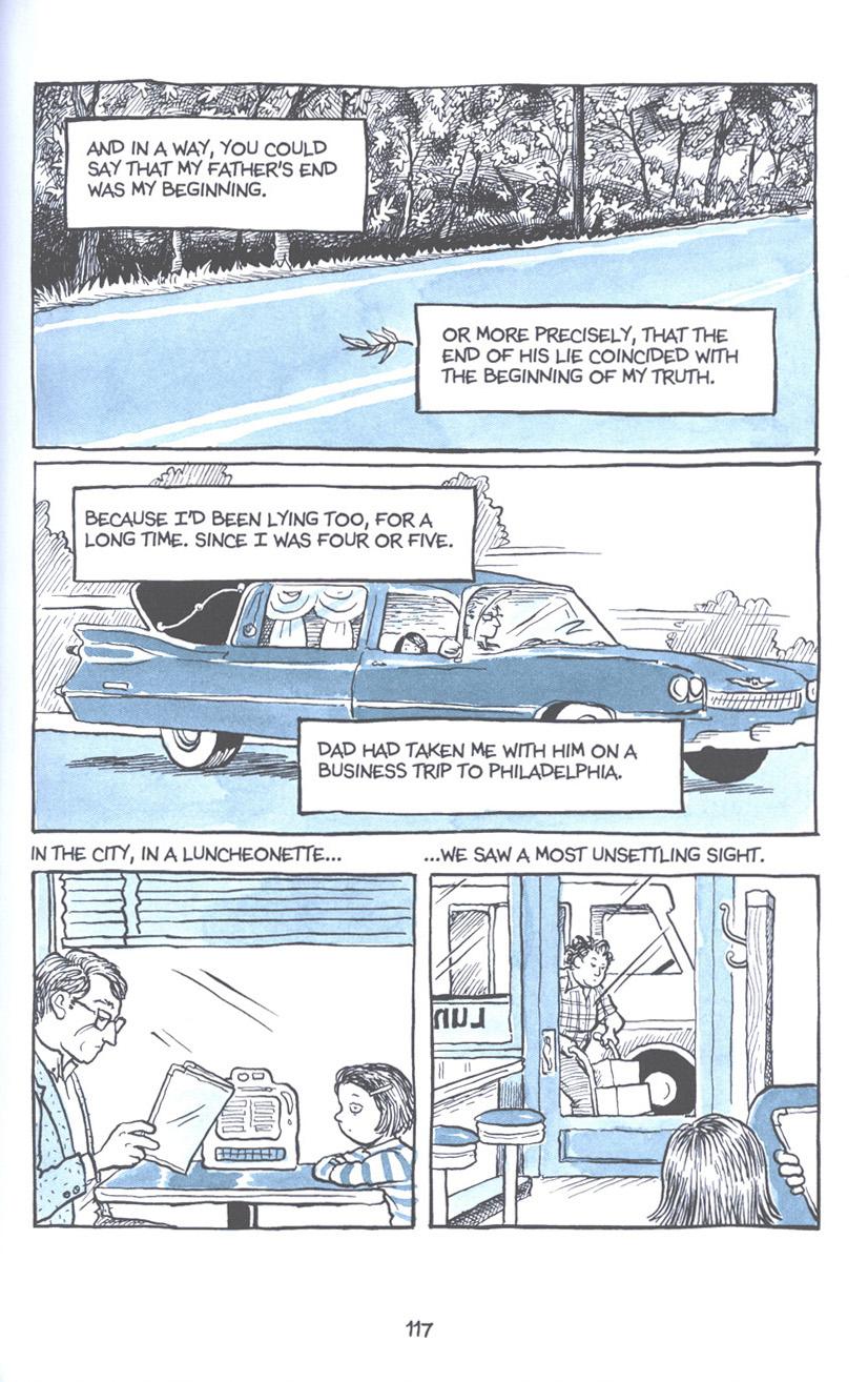 Read online Fun Home: A Family Tragicomic comic -  Issue # TPB - 123