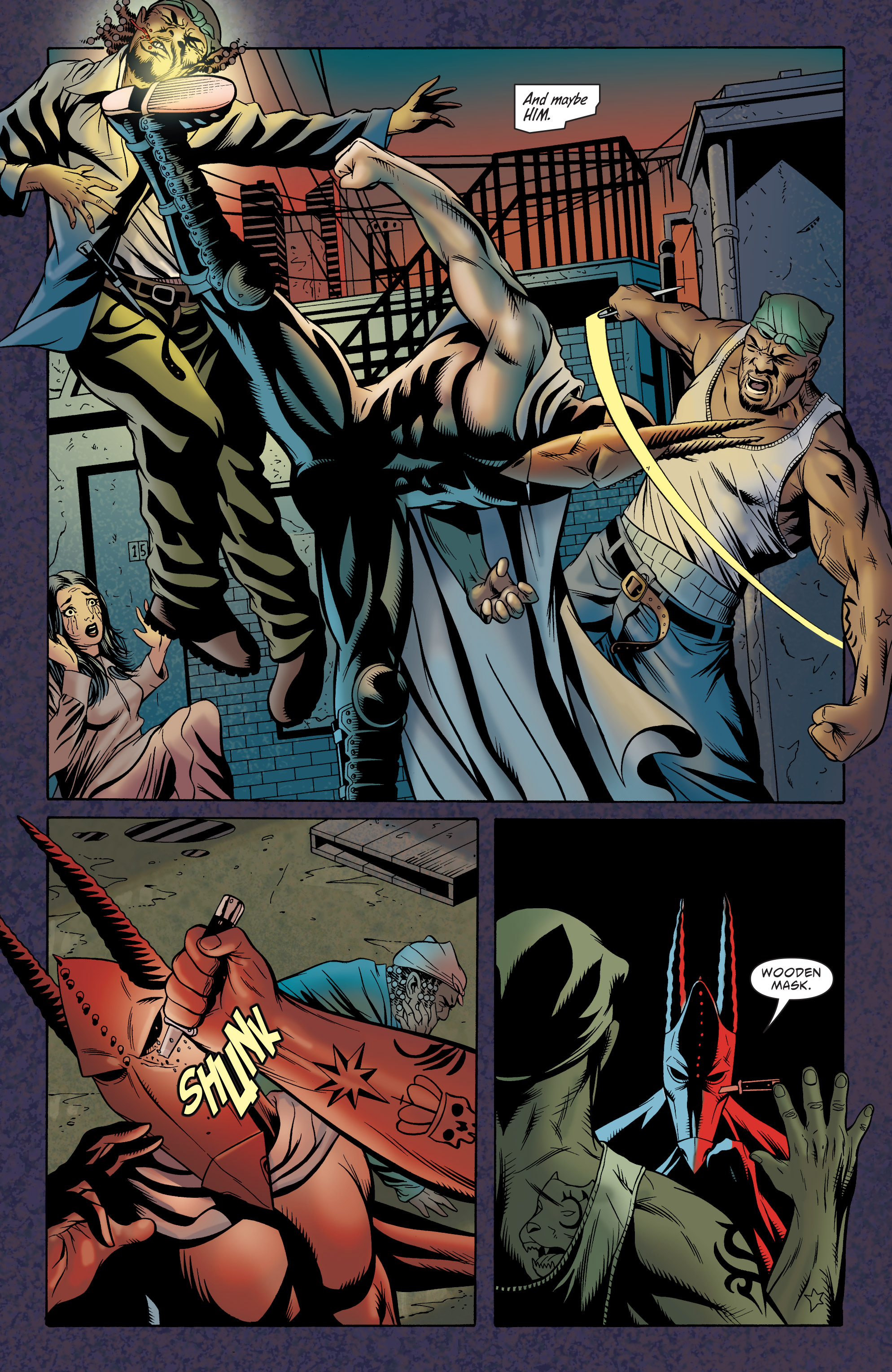 Read online Batman: The Widening Gyre comic -  Issue #6 - 22