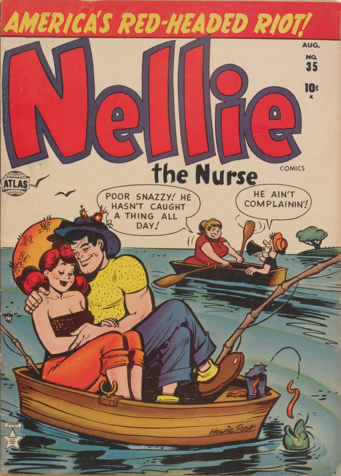 Read online Nellie The Nurse (1945) comic -  Issue #35 - 1