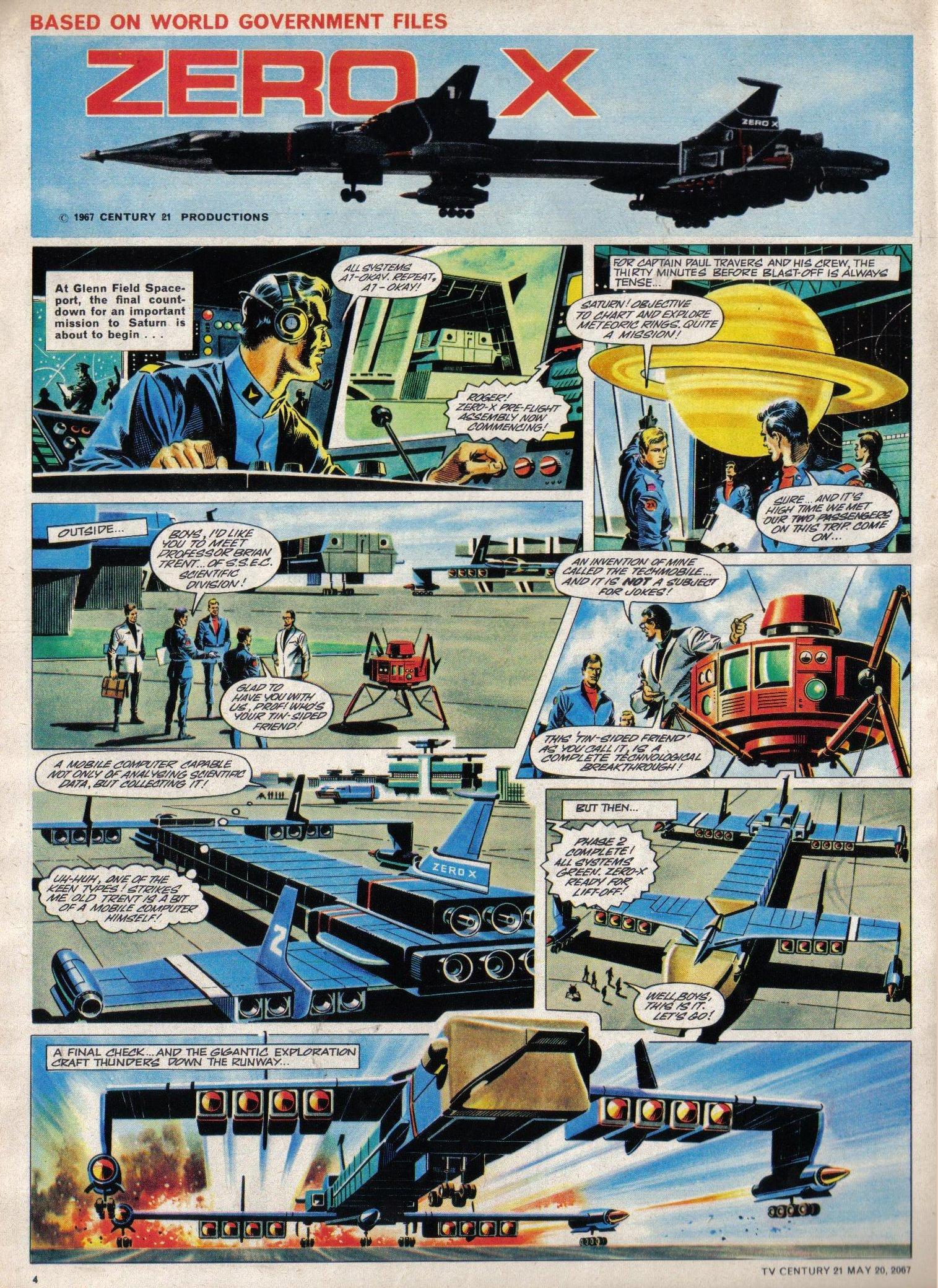 Read online TV Century 21 (TV 21) comic -  Issue #122 - 4