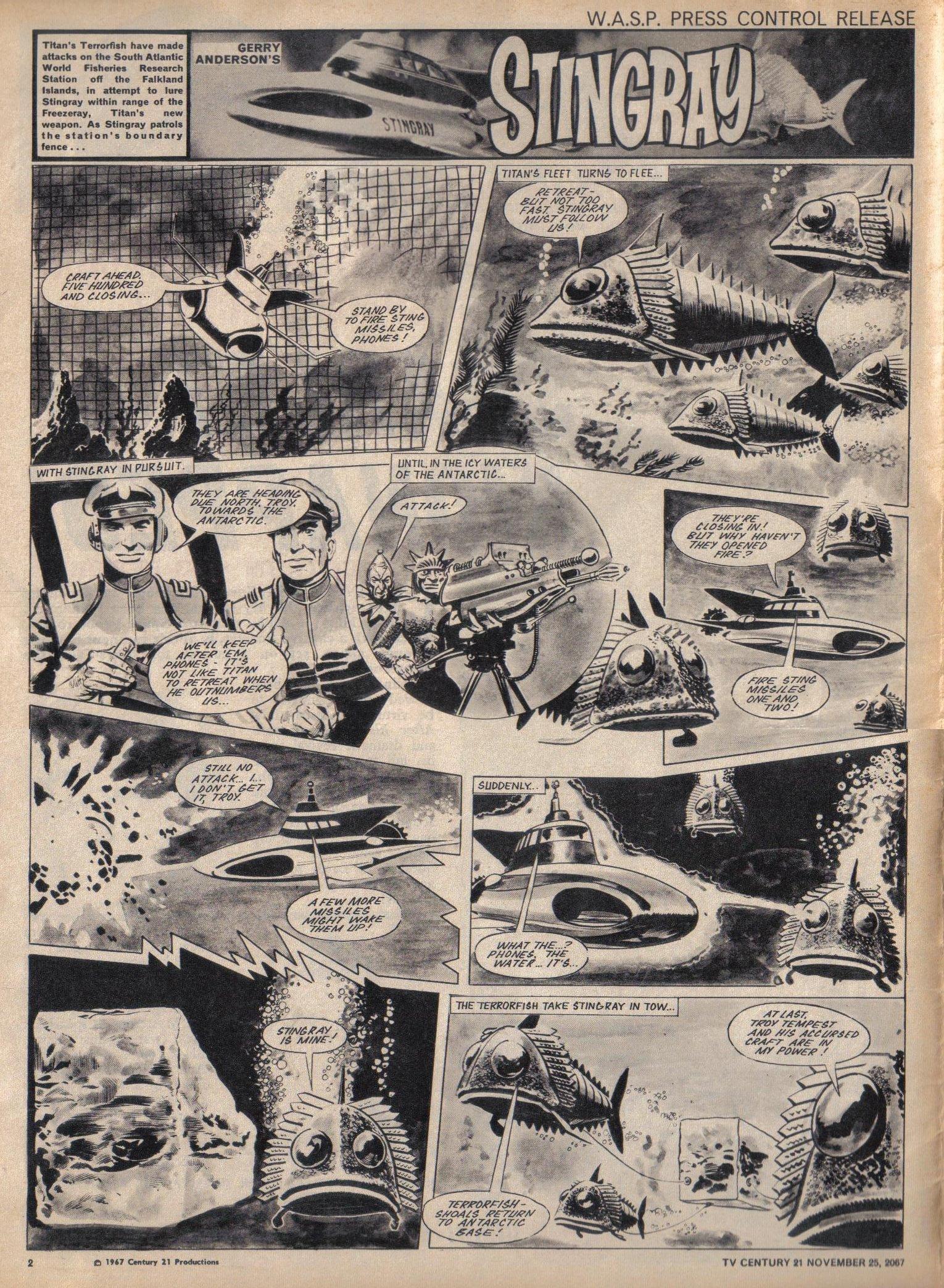 Read online TV Century 21 (TV 21) comic -  Issue #149 - 2