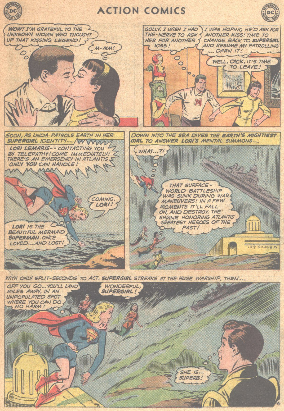 Read online Action Comics (1938) comic -  Issue #290 - 22