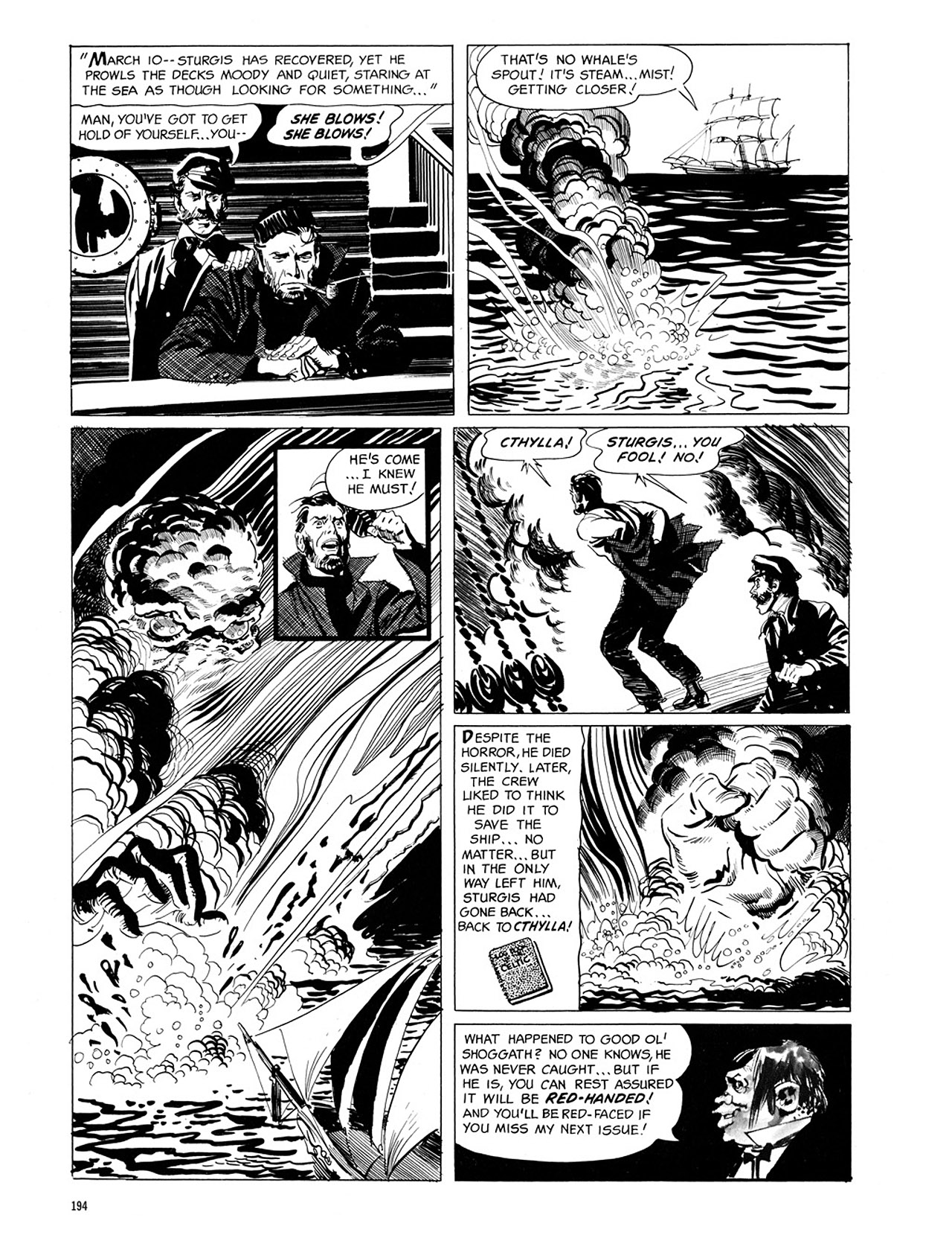 Read online Eerie Archives comic -  Issue # TPB 1 - 195