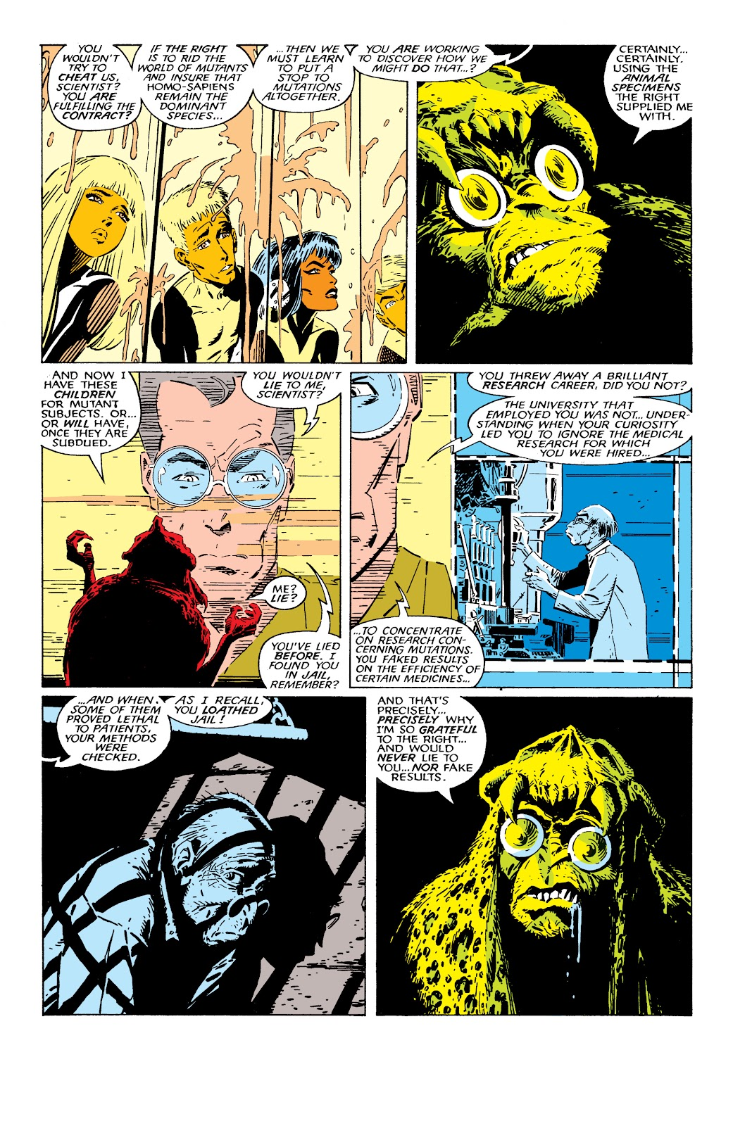 Read online X-Men Milestones: Fall of the Mutants comic -  Issue # TPB (Part 2) - 30