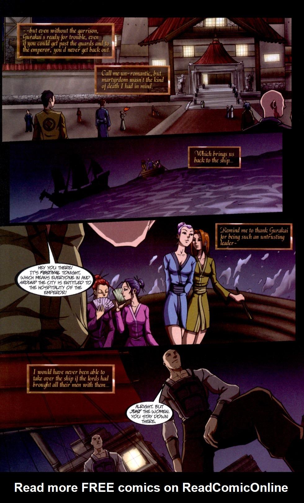 Read online Shidima comic -  Issue #6 - 5
