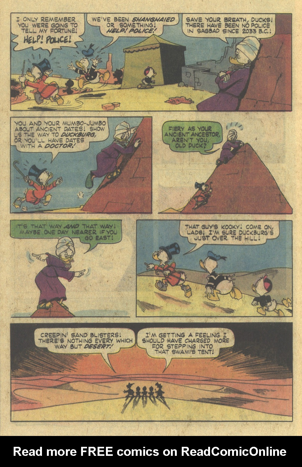 Read online Uncle Scrooge (1953) comic -  Issue #145 - 8