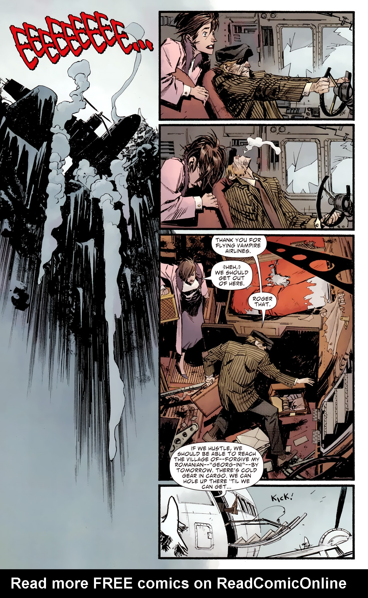 Read online American Vampire: Survival of the Fittest comic -  Issue #2 - 10