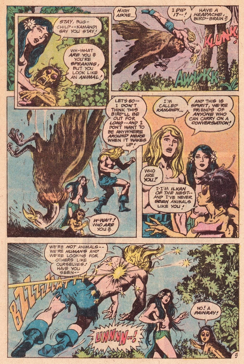 Kamandi, The Last Boy On Earth issue 54 - Page 7