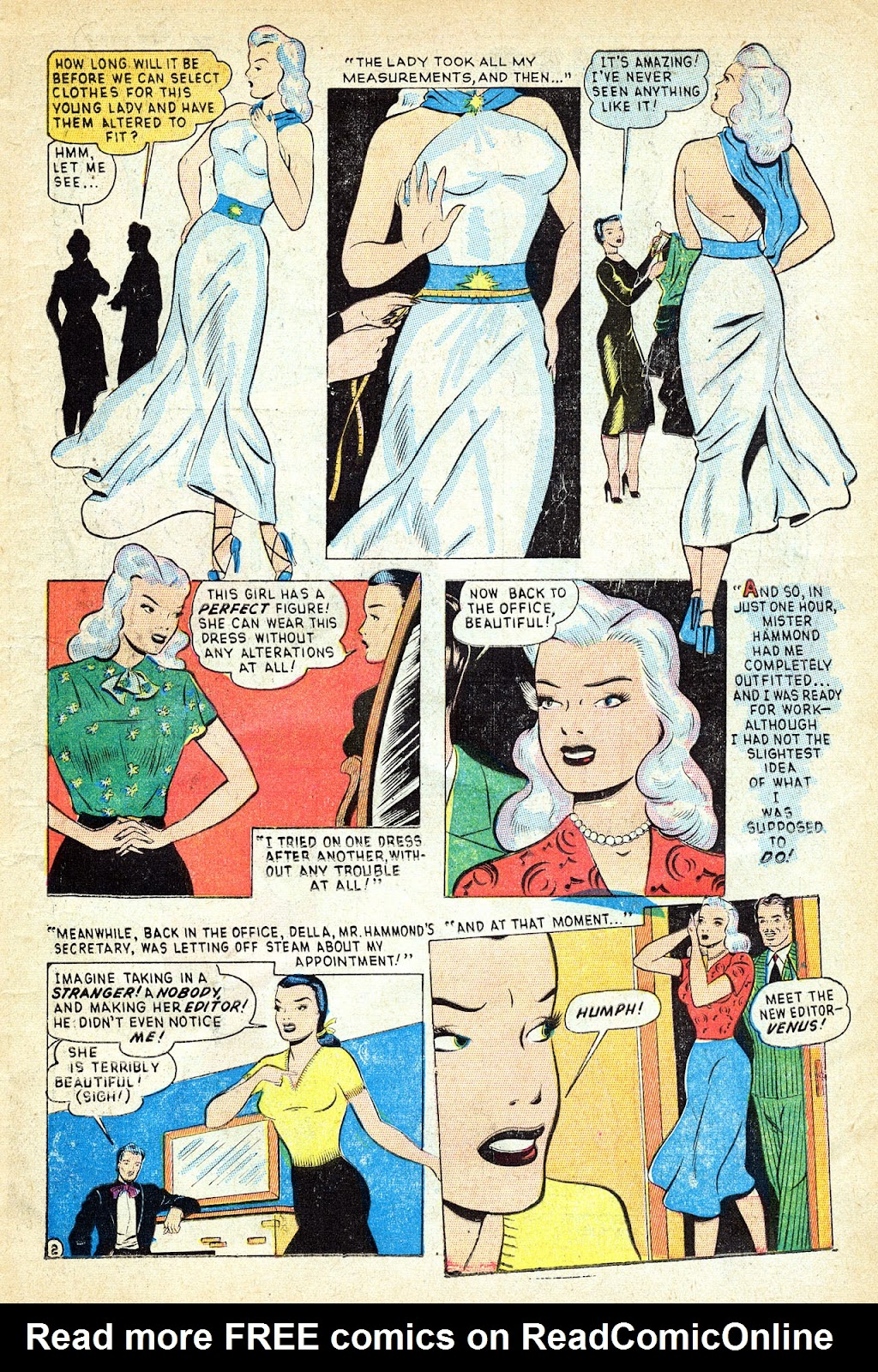 Venus (1948) issue 1 - Page 15