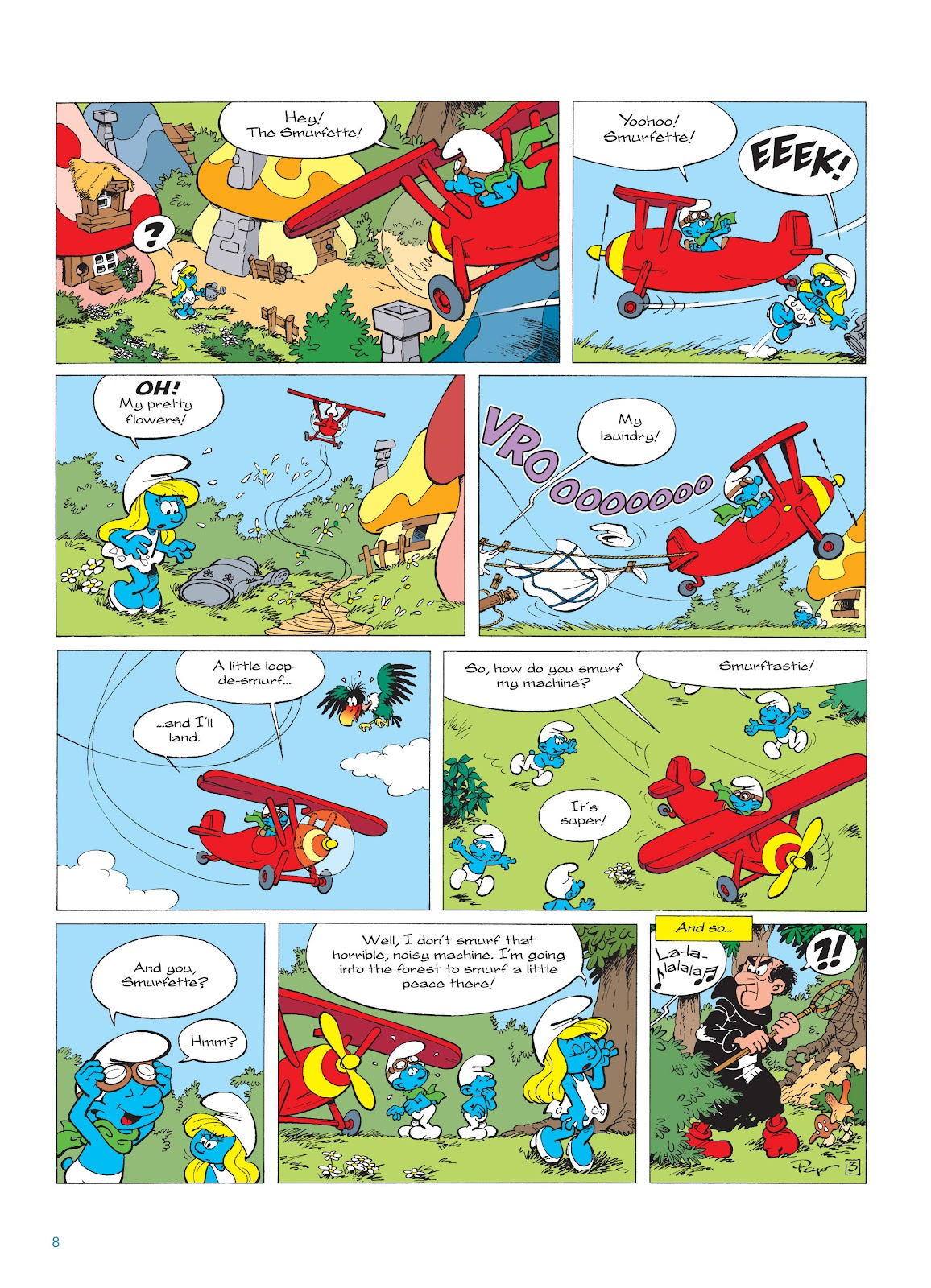 Read online The Smurfs comic -  Issue #16 - 9