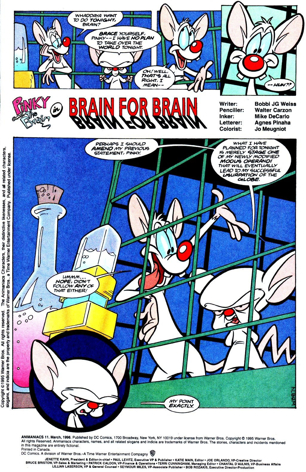 Animaniacs (1995) issue 11 - Page 2