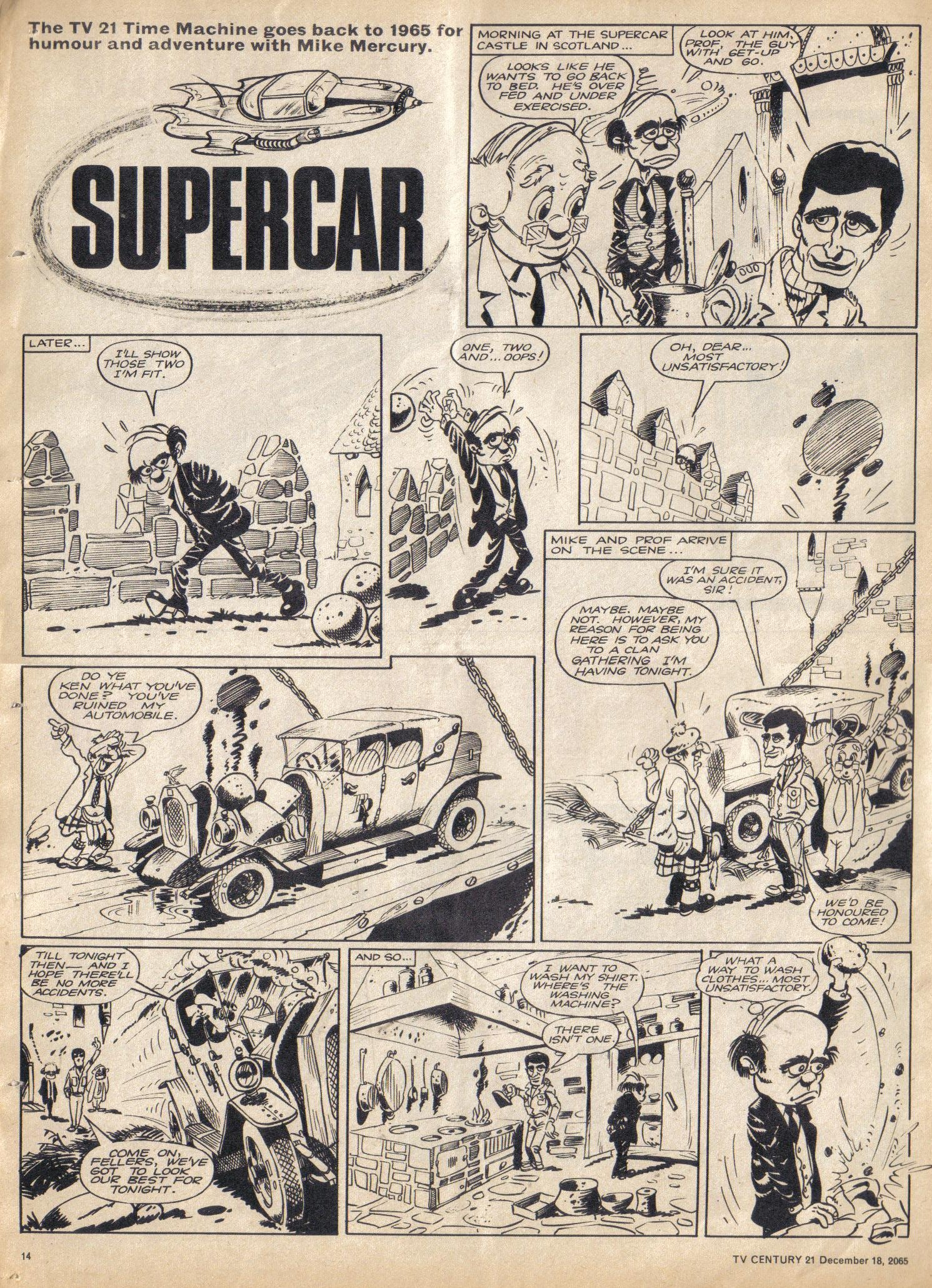 Read online TV Century 21 (TV 21) comic -  Issue #48 - 13