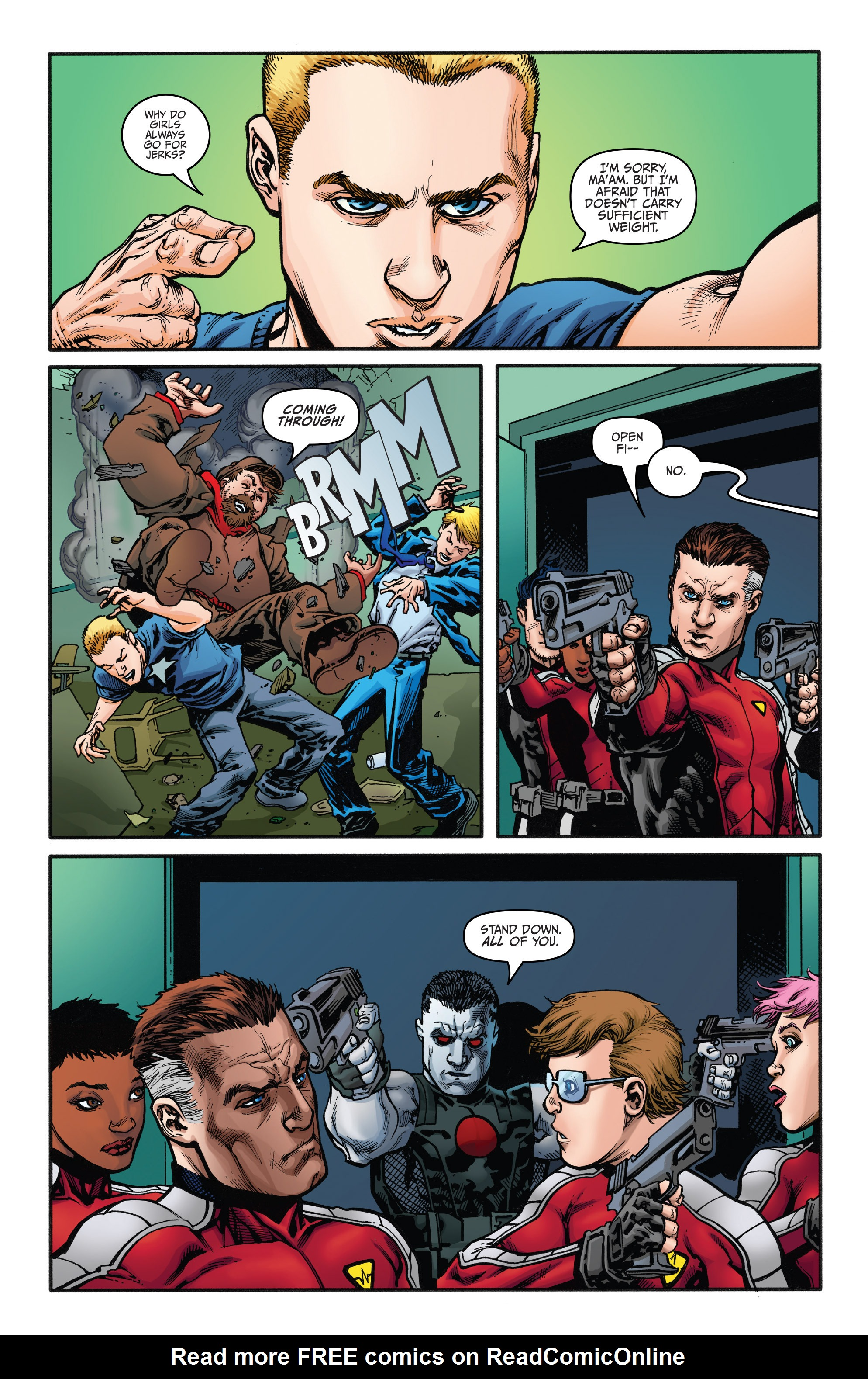 Read online Bloodshot and H.A.R.D.Corps comic -  Issue #21 - 13