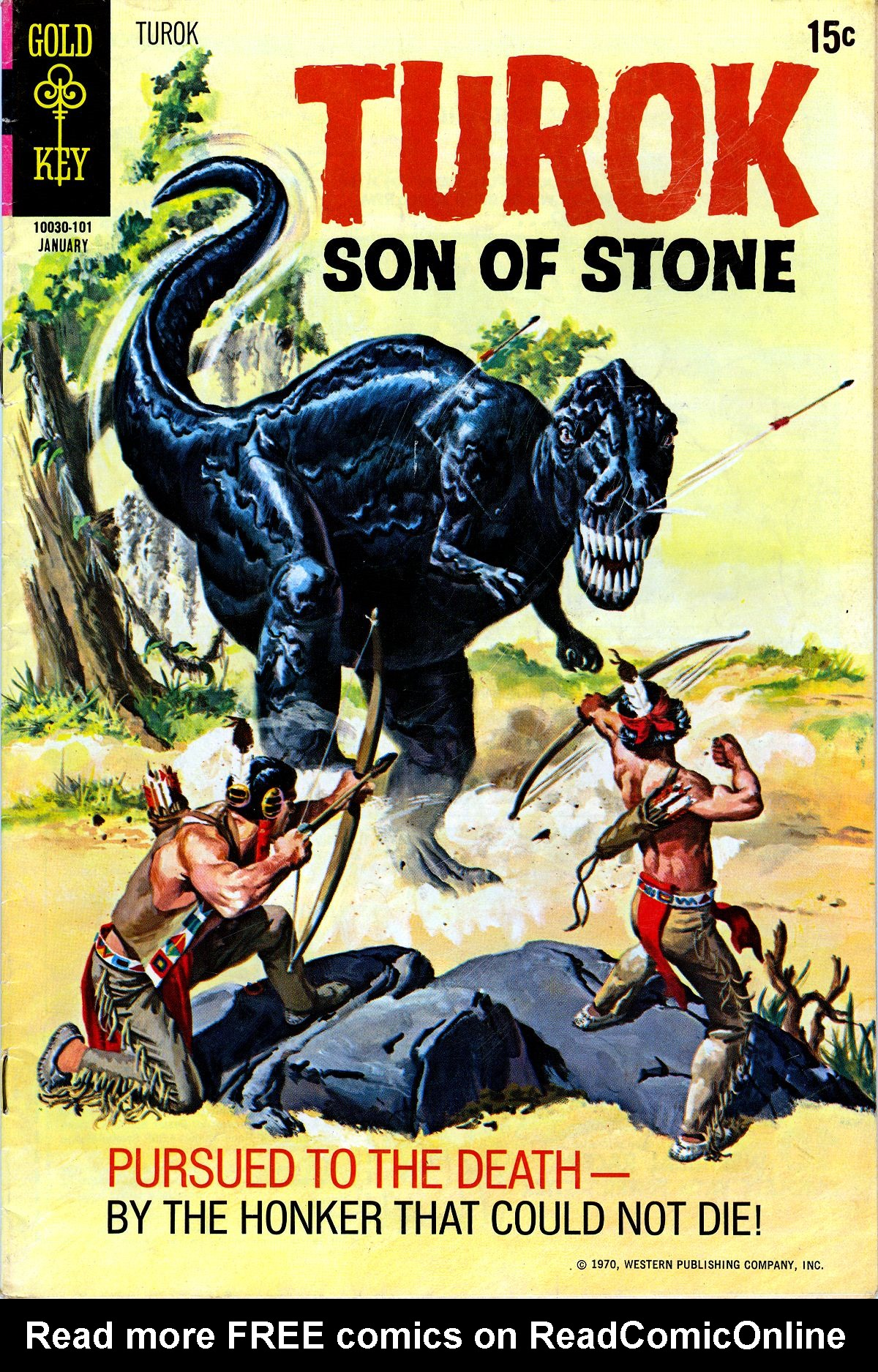 Read online Turok, Son of Stone comic -  Issue #72 - 1