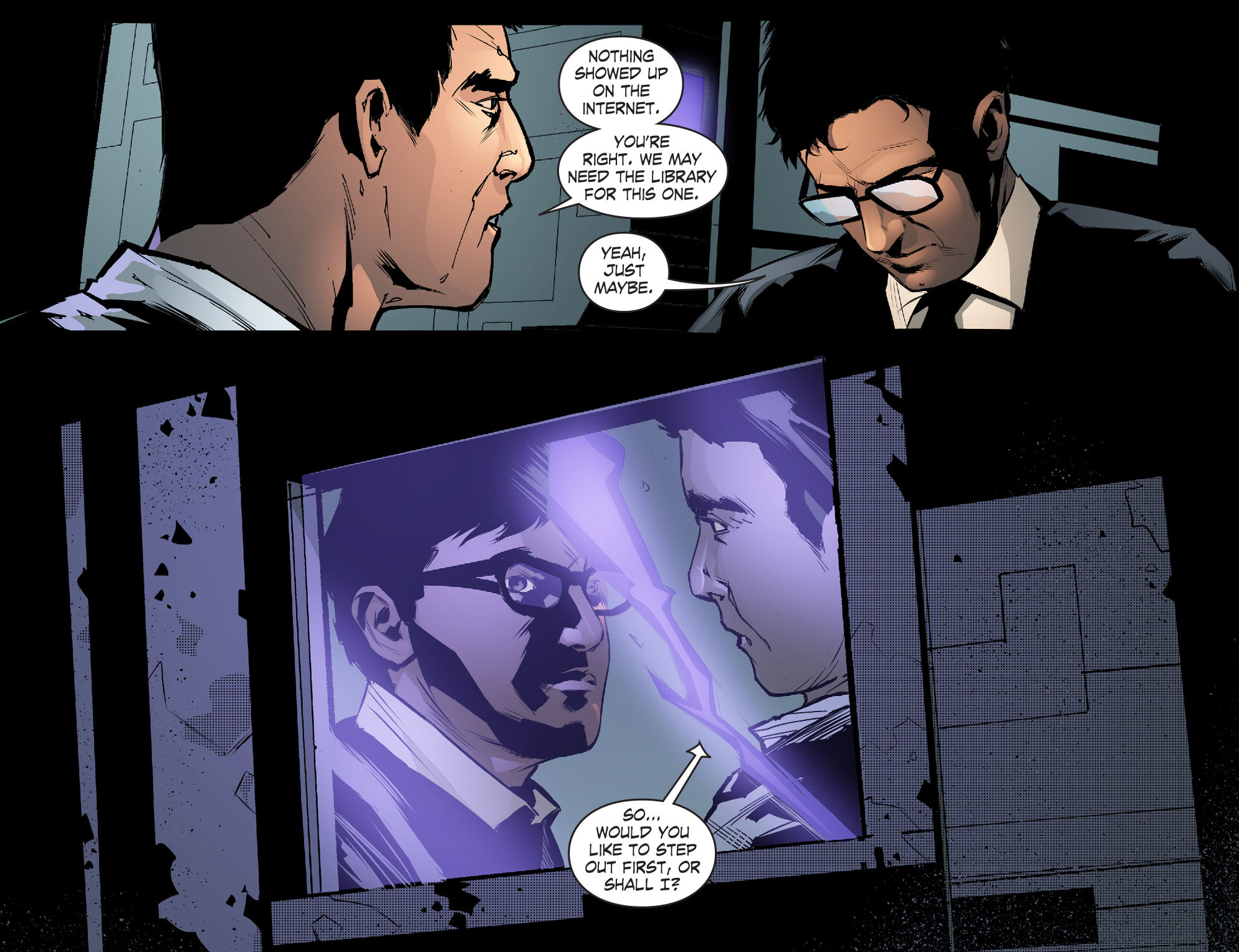 Read online Smallville: Chaos [II] comic -  Issue #5 - 6