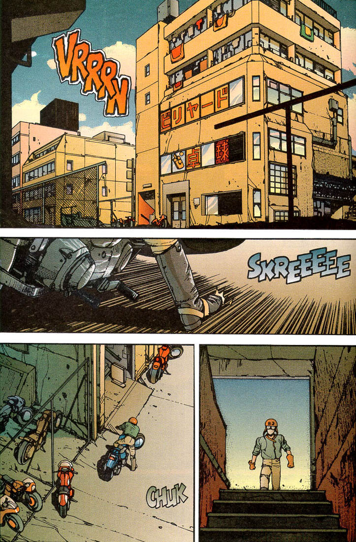 Read online Akira comic -  Issue #5 - 34