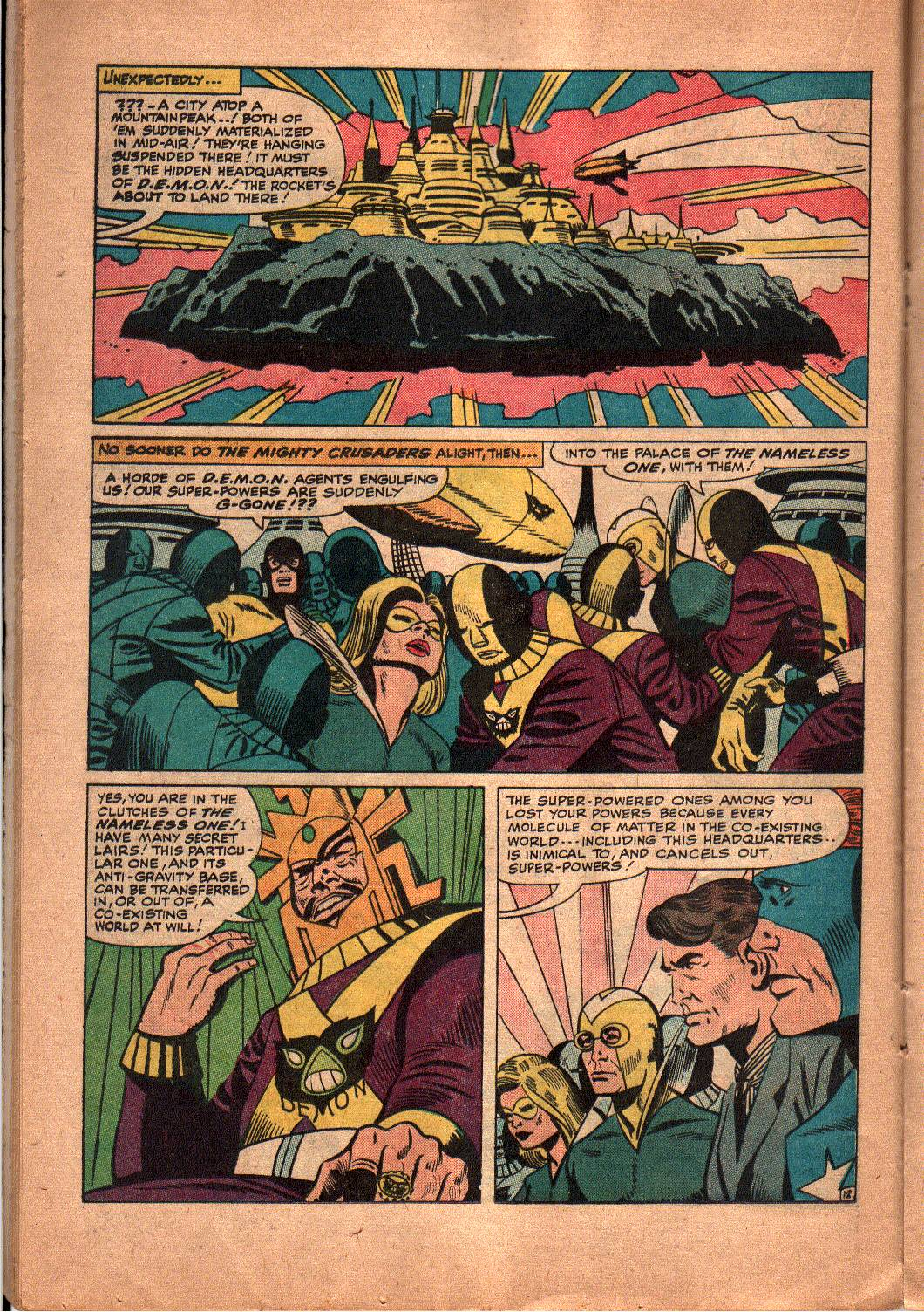 The Mighty Crusaders (1965) Issue #5 #5 - English 13