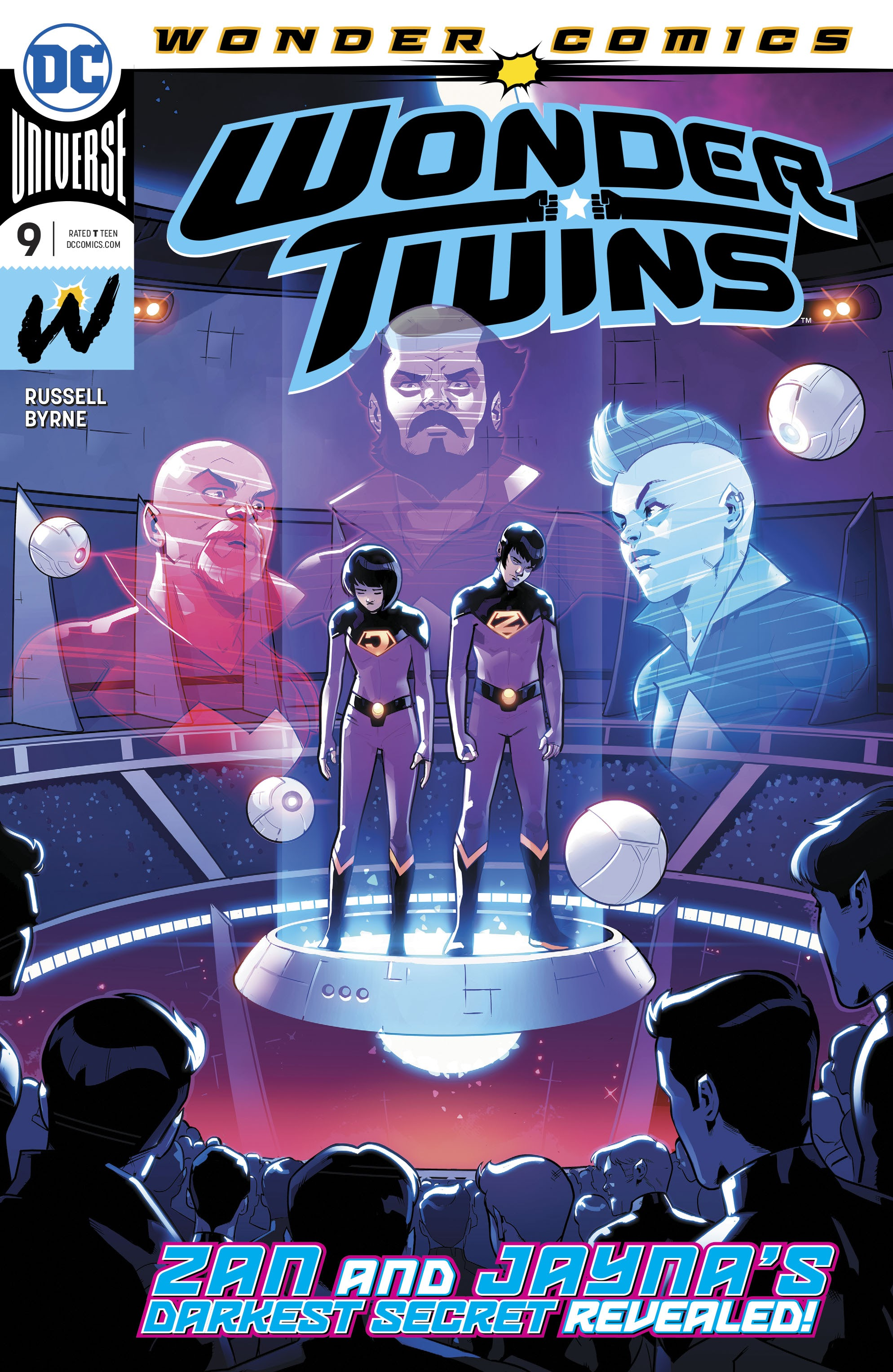 Wonder Twins 9 Page 1