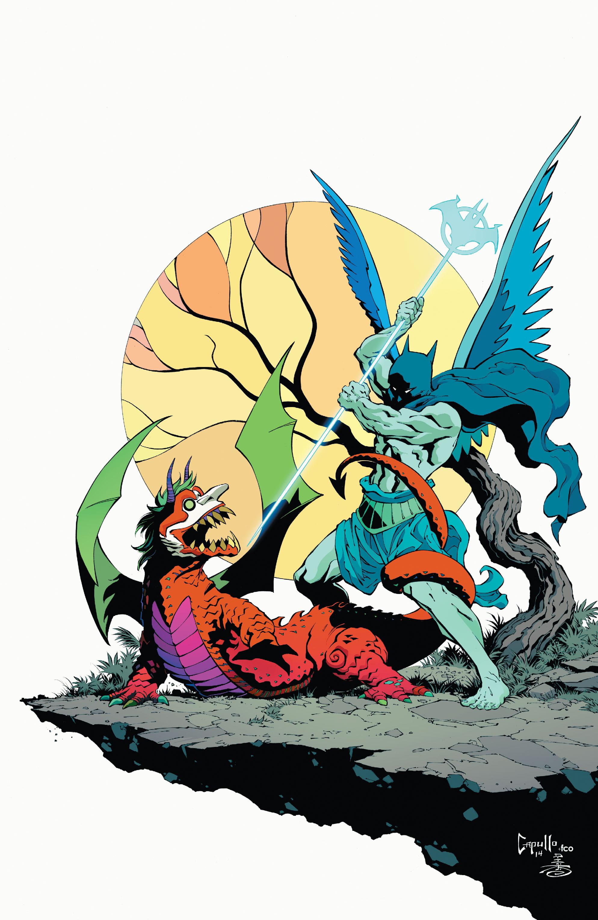 Read online Batman (2011) comic -  Issue # _TPB 7 - 122