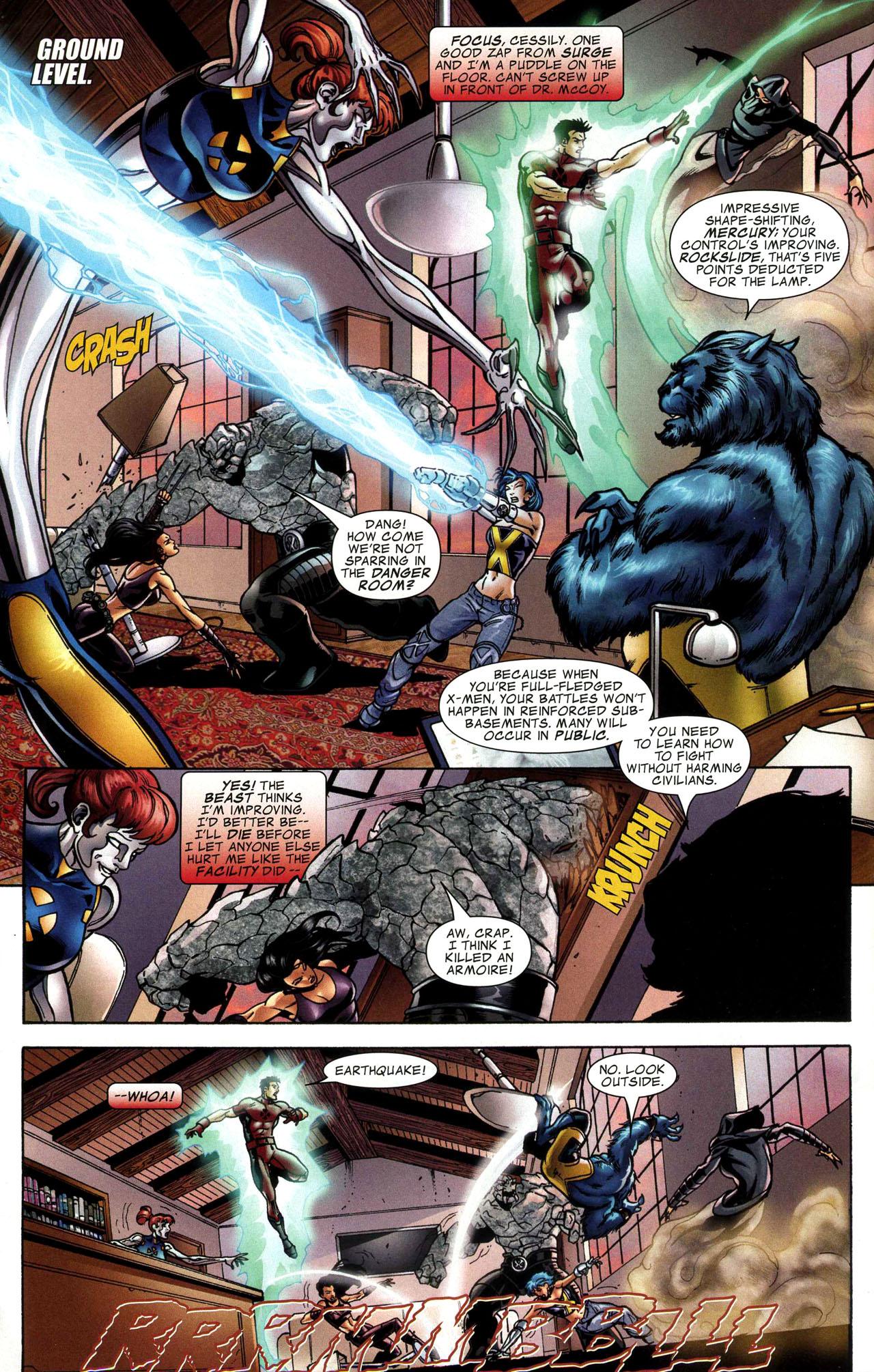 Read online World War Hulk: X-Men comic -  Issue #1 - 5