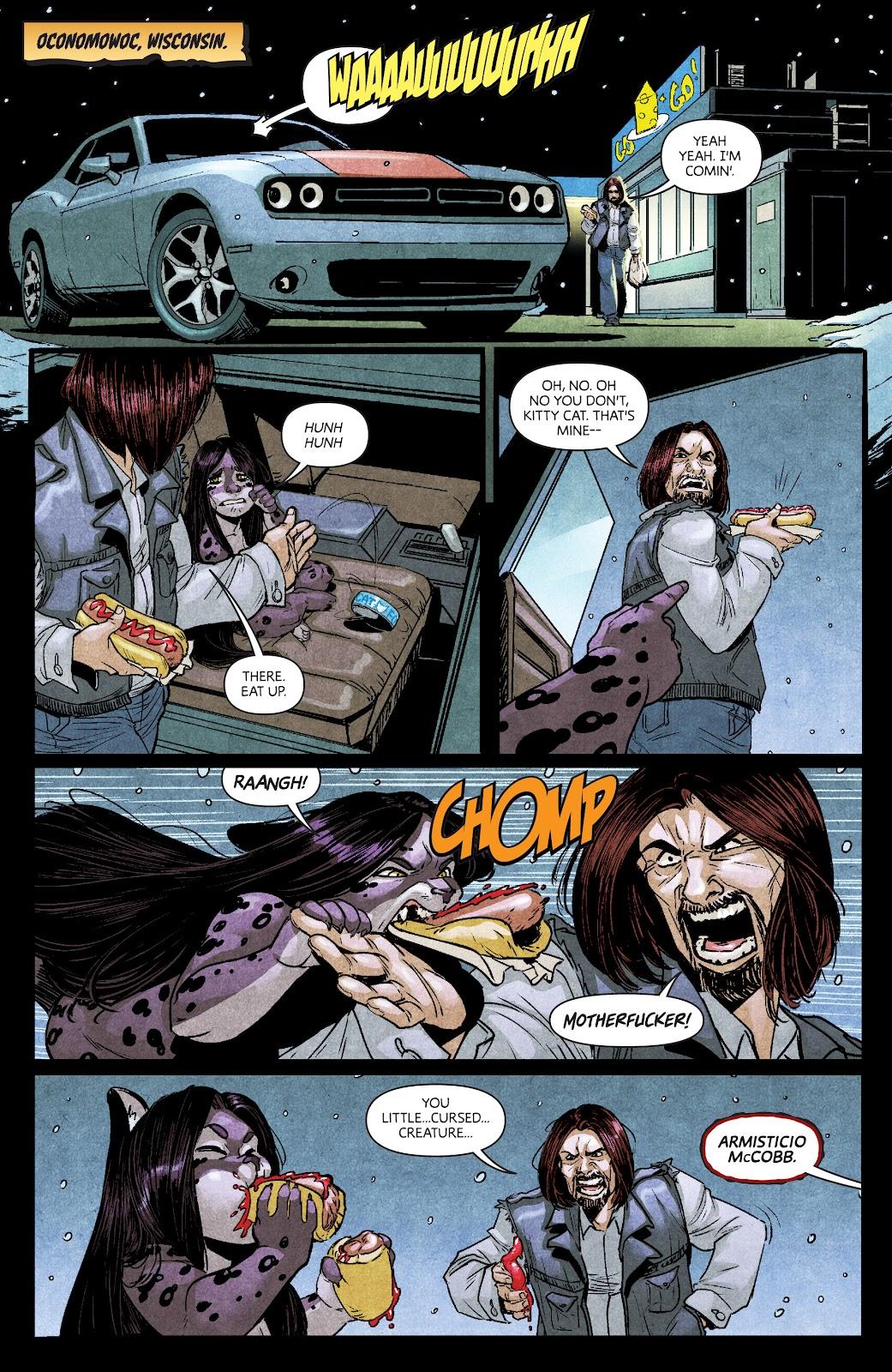 Read online Dark Red comic -  Issue #7 - 6