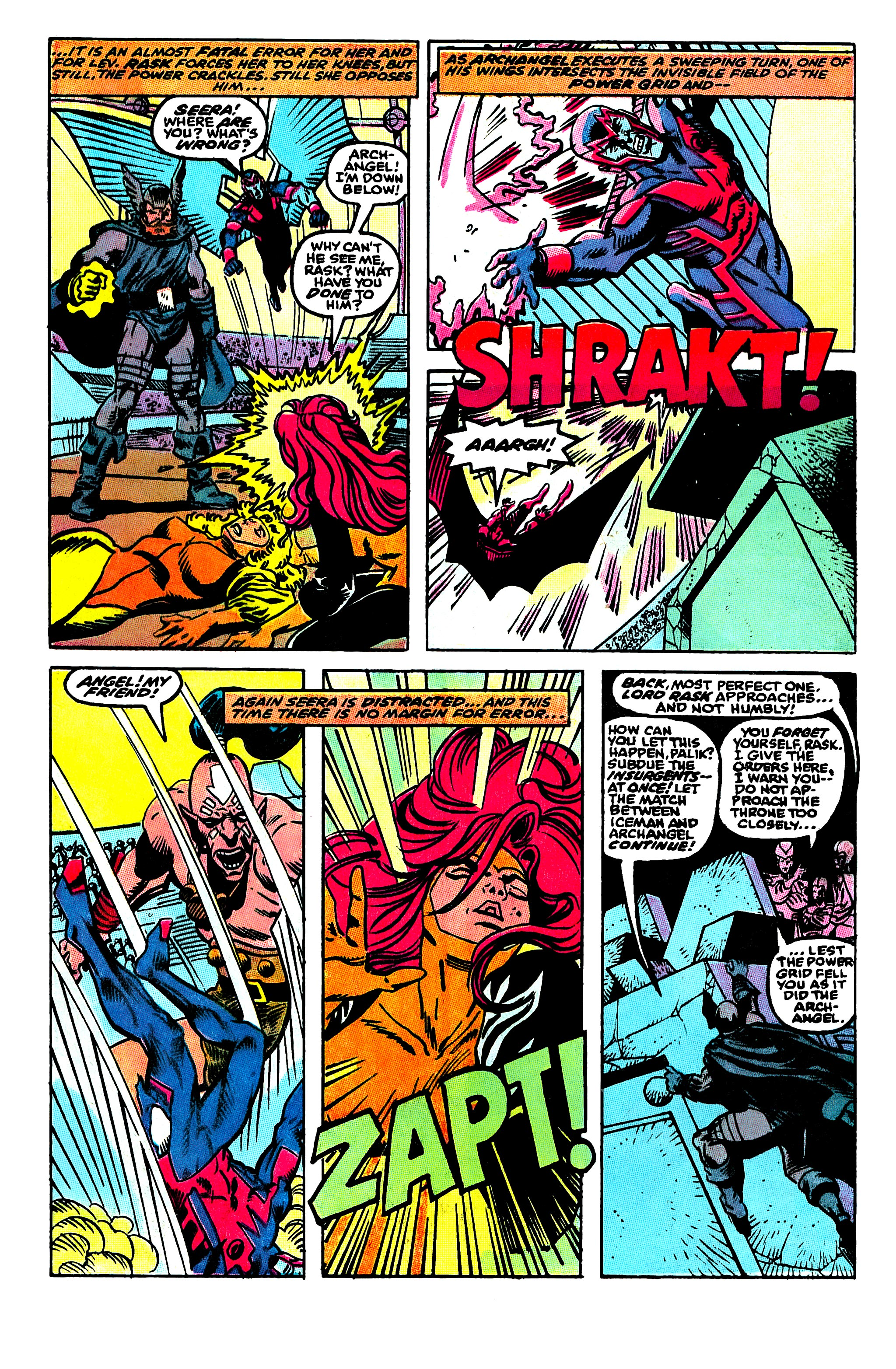 Read online X-Factor (1986) comic -  Issue #50 - 4