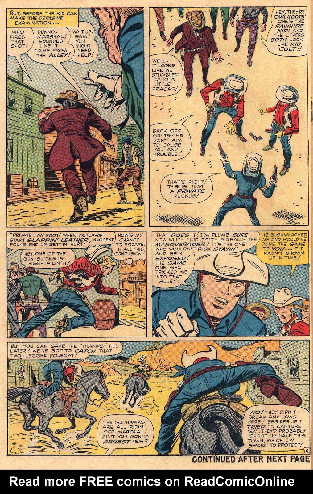 The Rawhide Kid (1955) issue 50 - Page 18