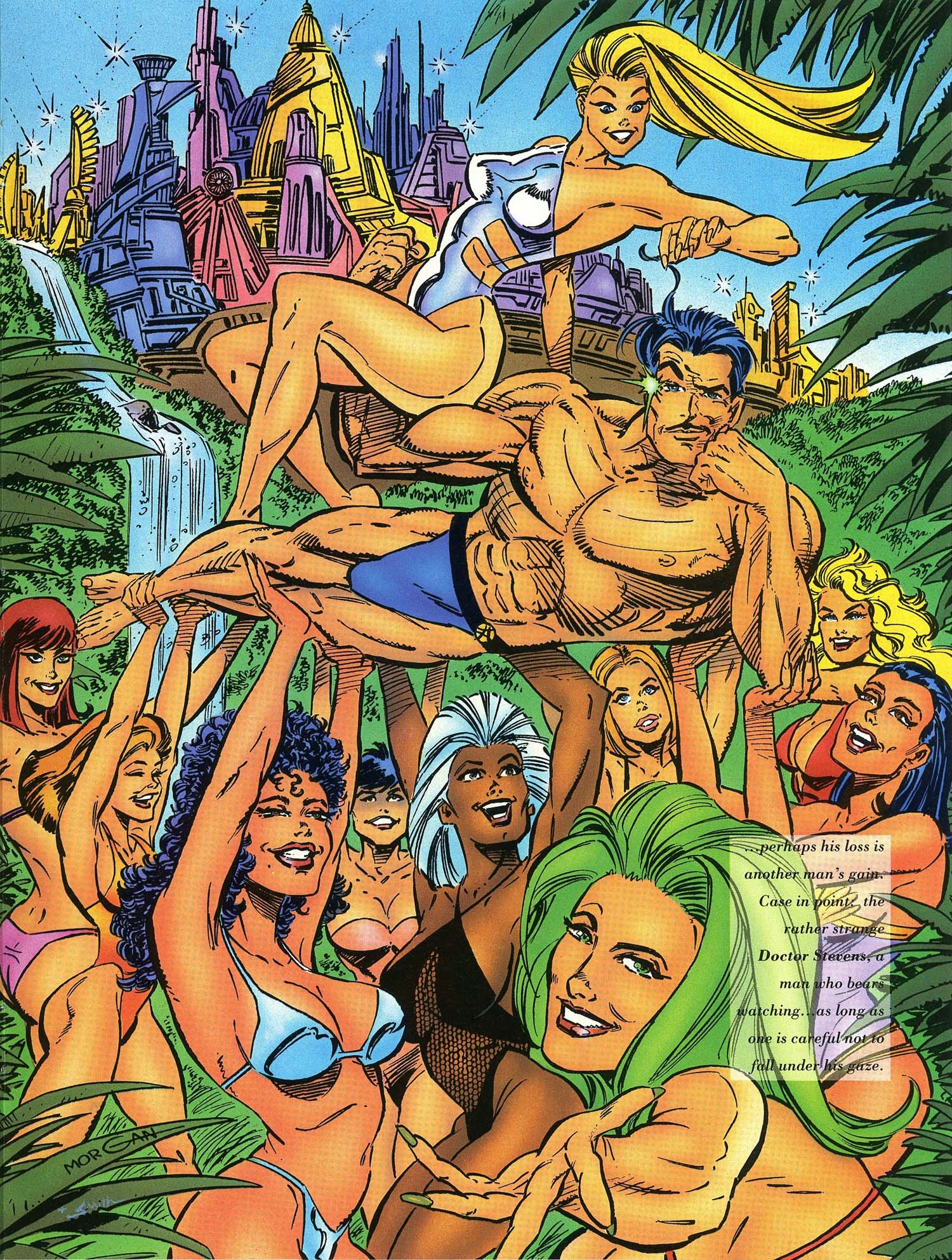 Read online Marvel Swimsuit Special comic -  Issue #3 - 21